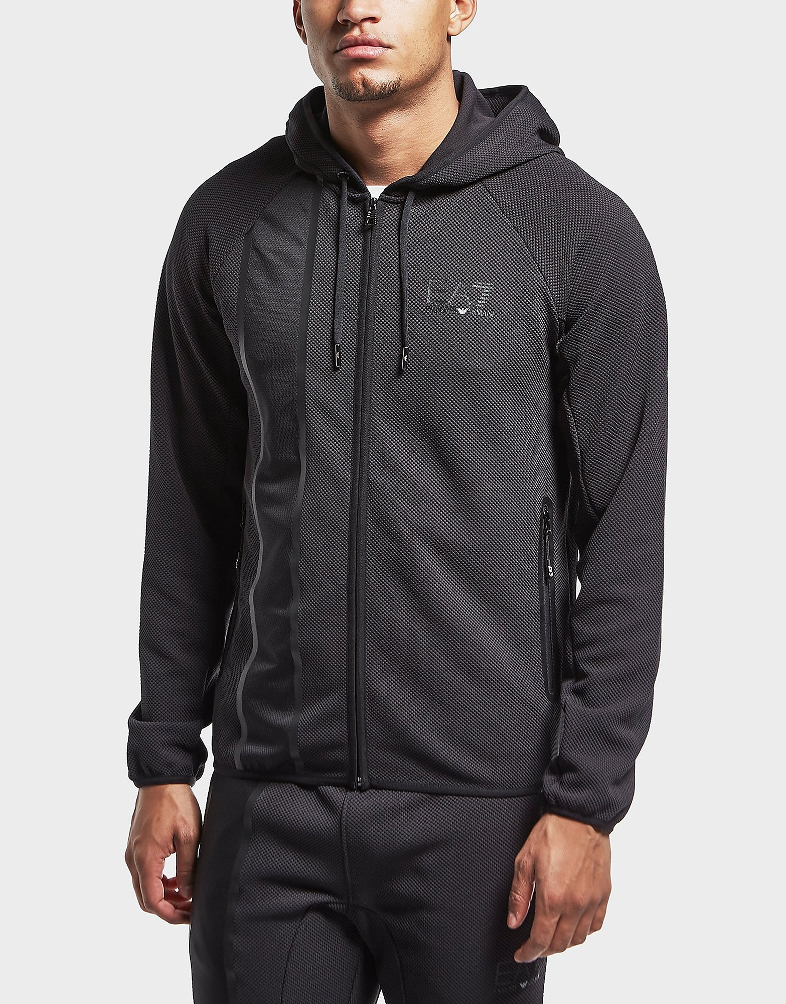 Emporio Armani EA7 Evolution Mesh Full Zip Hoodie