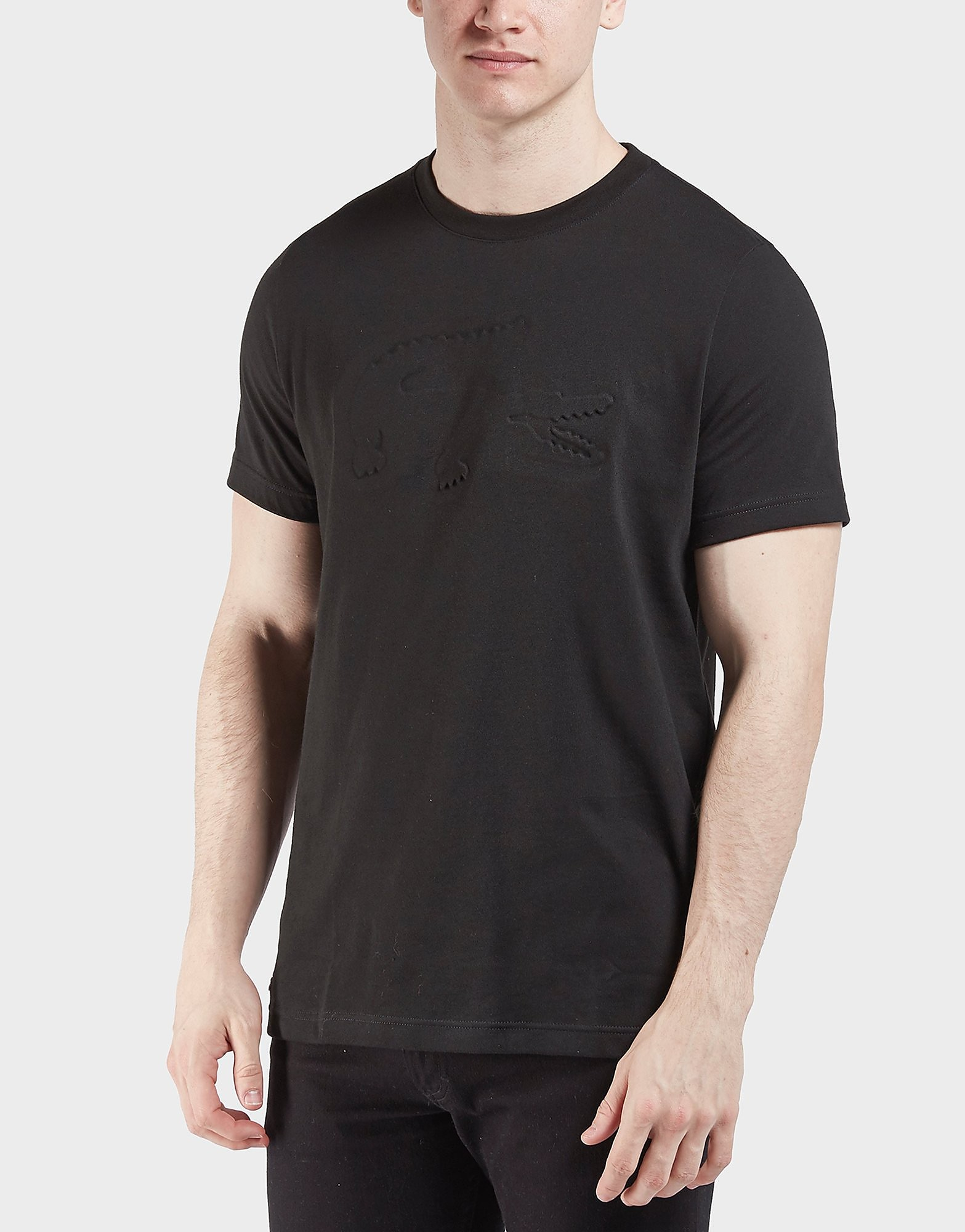Lacoste Embossed Croc Short Sleeve T-Shirt