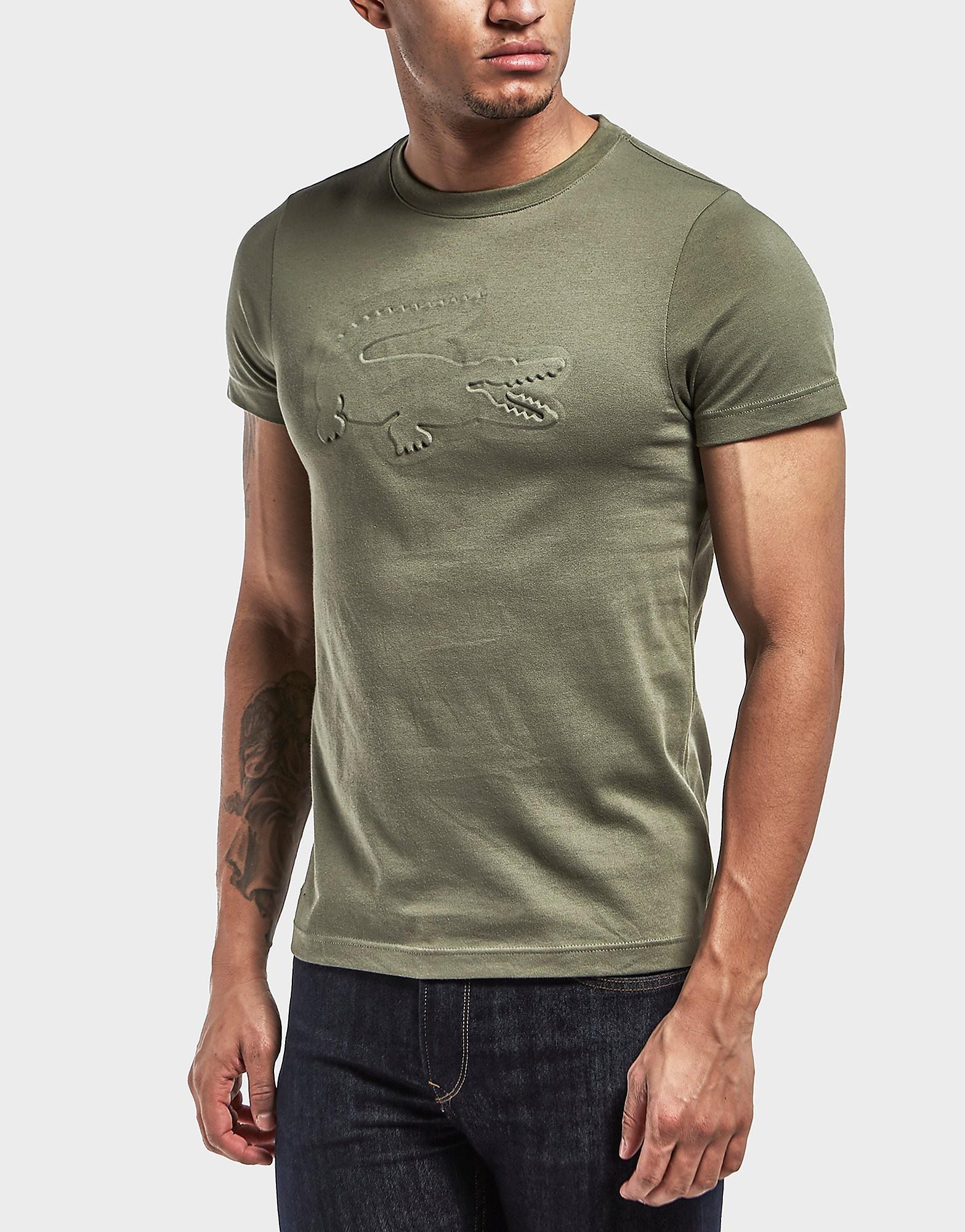Lacoste Embossed Croc Short Sleeve T-Shirt