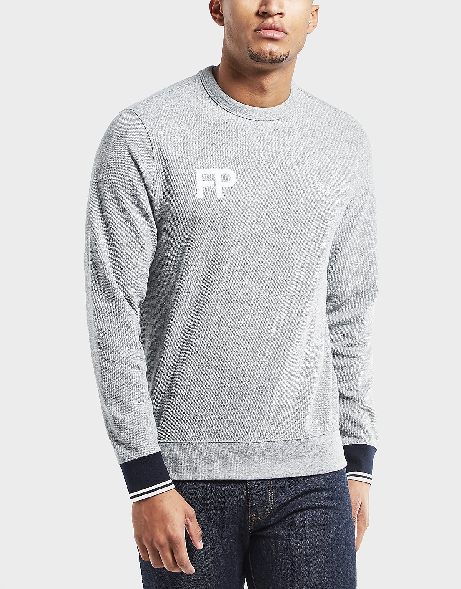 Fred Perry Logo Sweatshirt