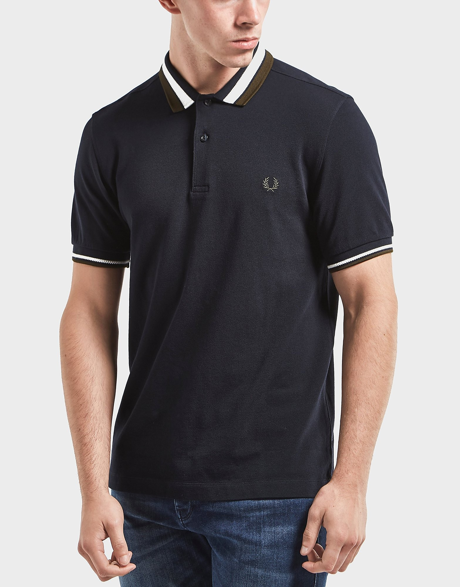 Fred Perry Bold Tipped Short Sleeve Polo Shirt