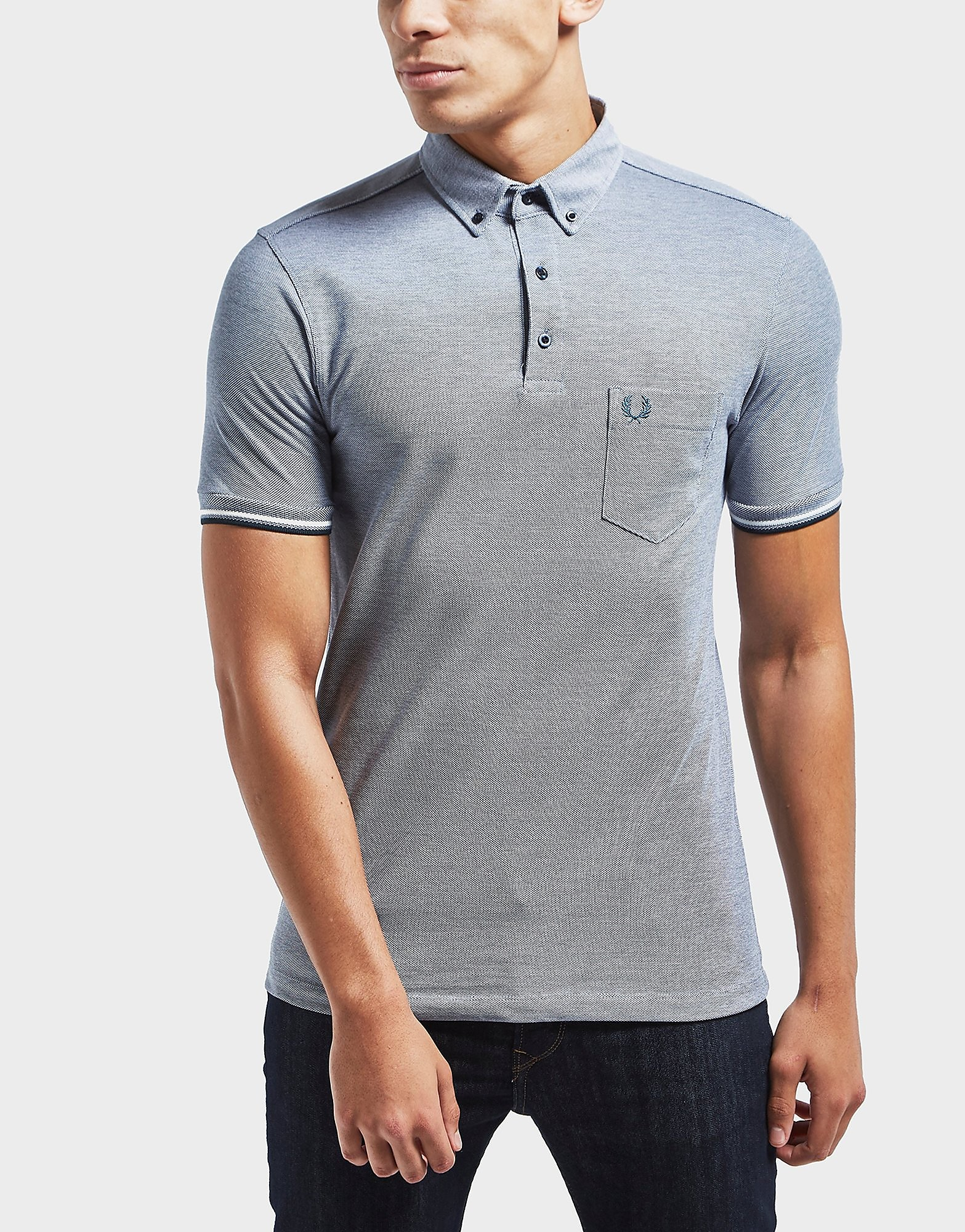 Fred Perry Oxford Short Sleeve Polo Shirt
