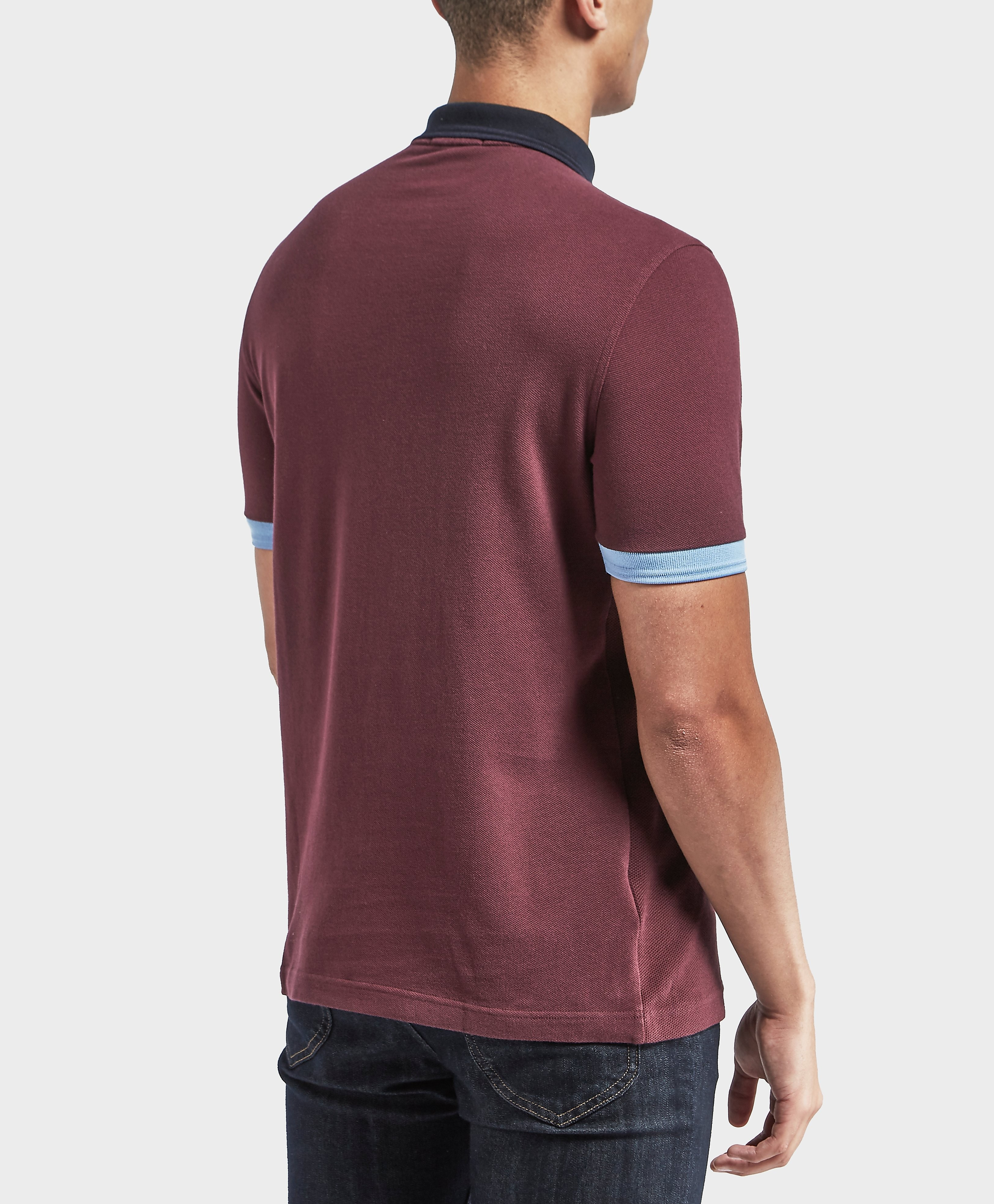 Fred Perry Block Pique Short Sleeve Polo Shirt