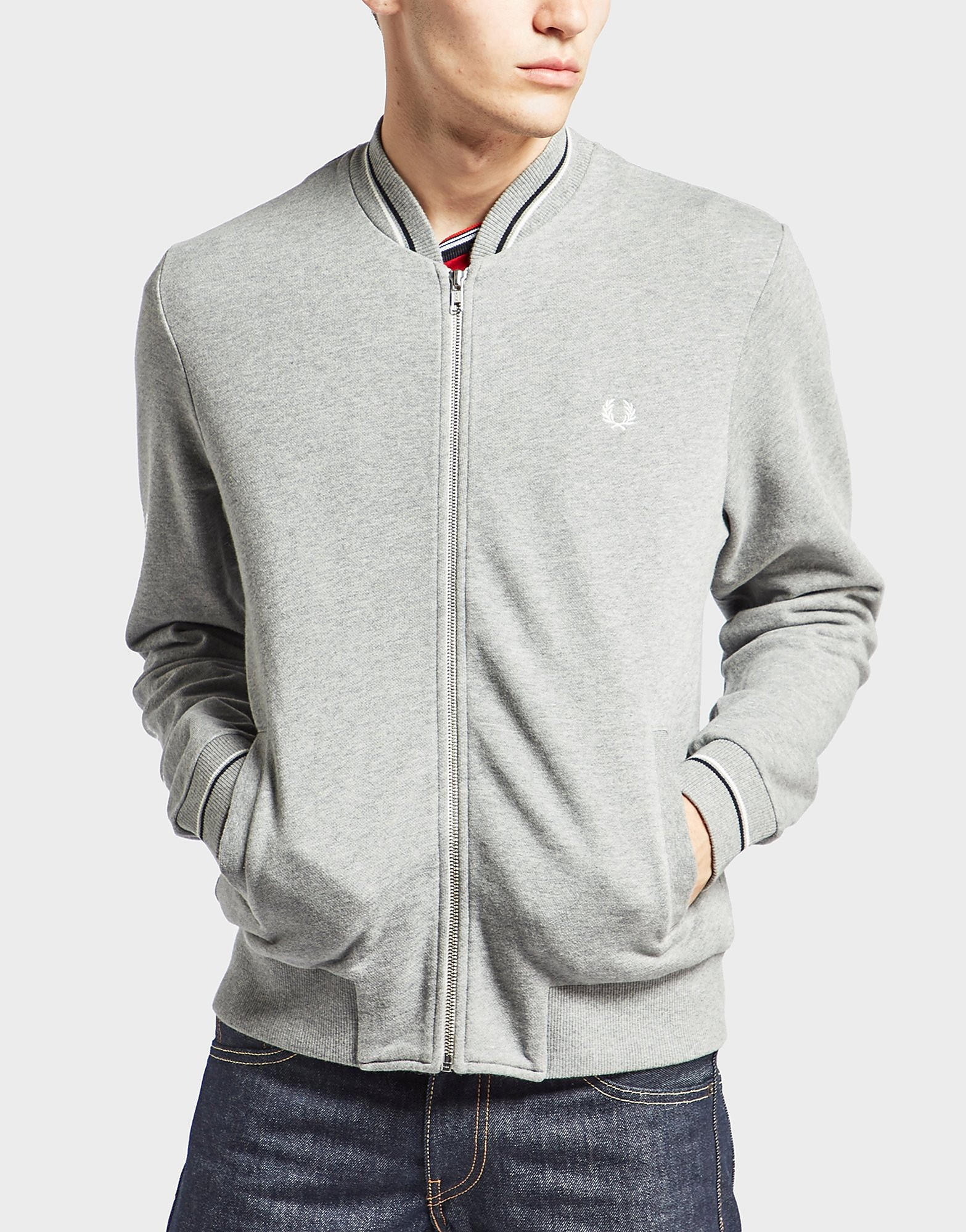 Fred Perry Bomber Track Topp