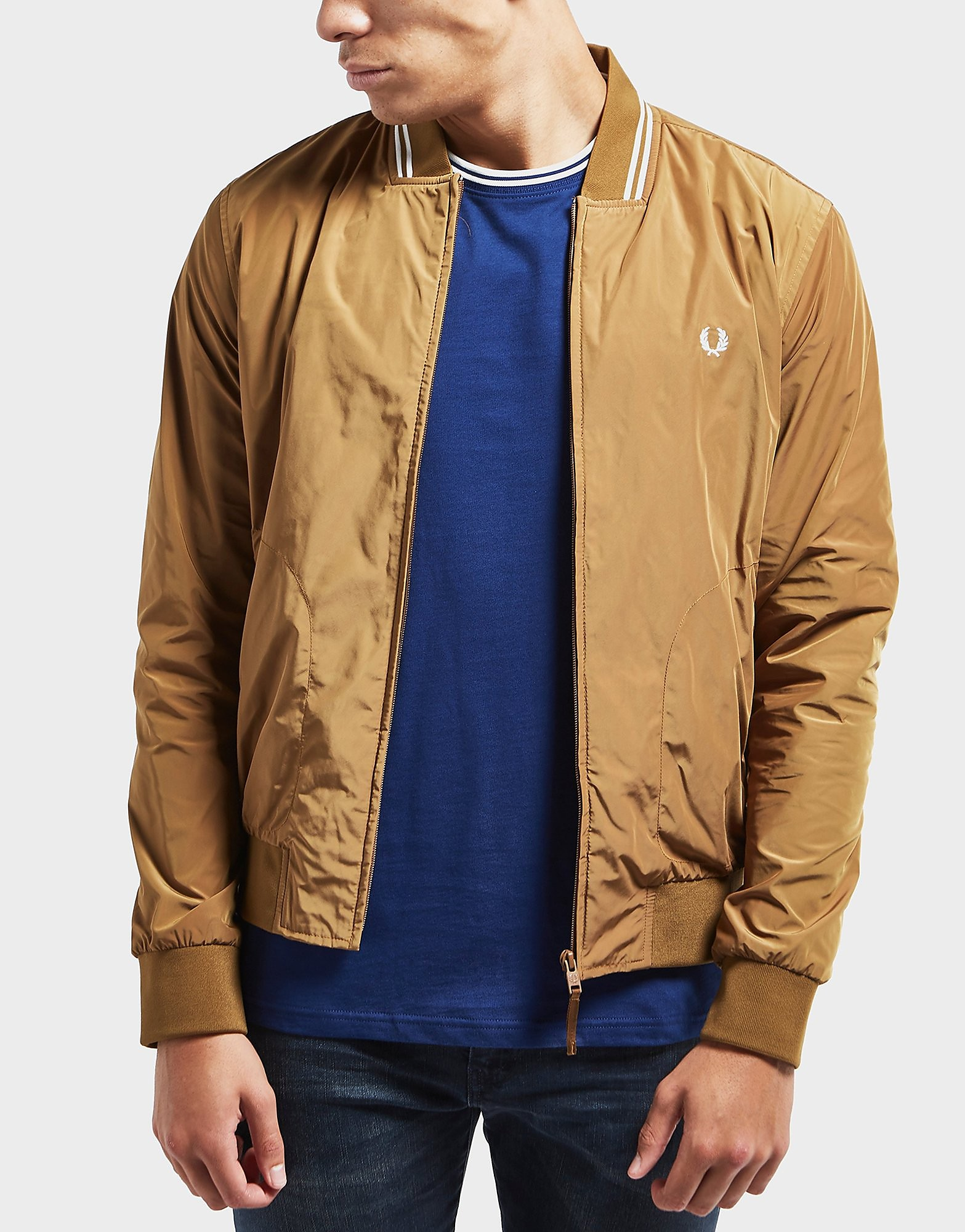 Fred Perry Tipped Bomber Jacket