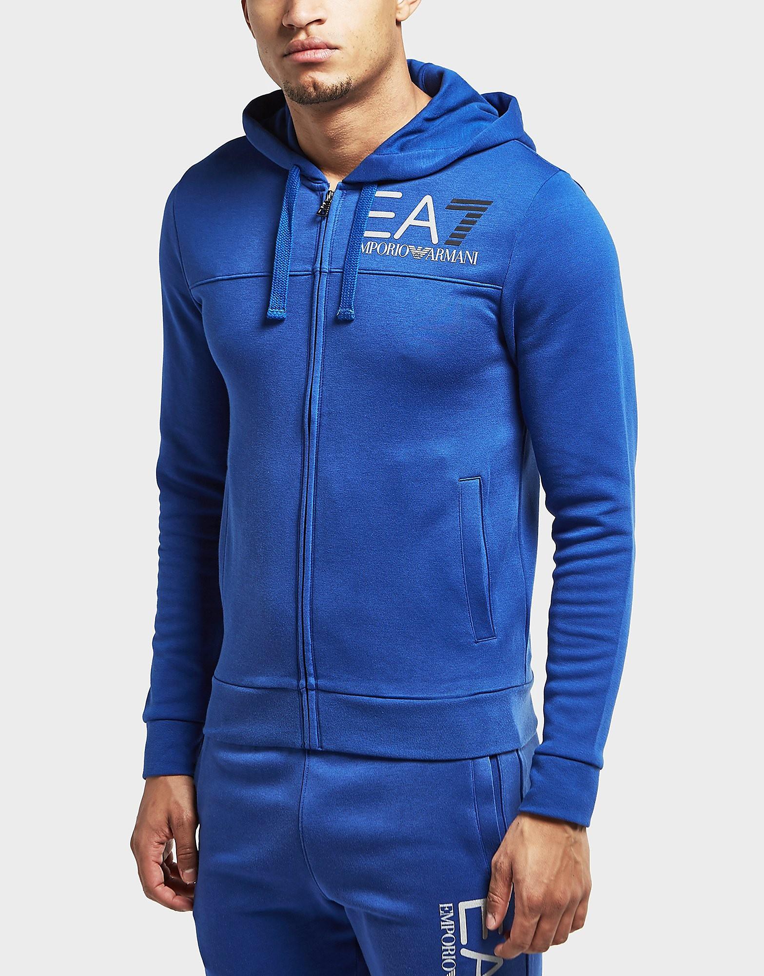 Emporio Armani EA7 Logo Full Zip Hoody