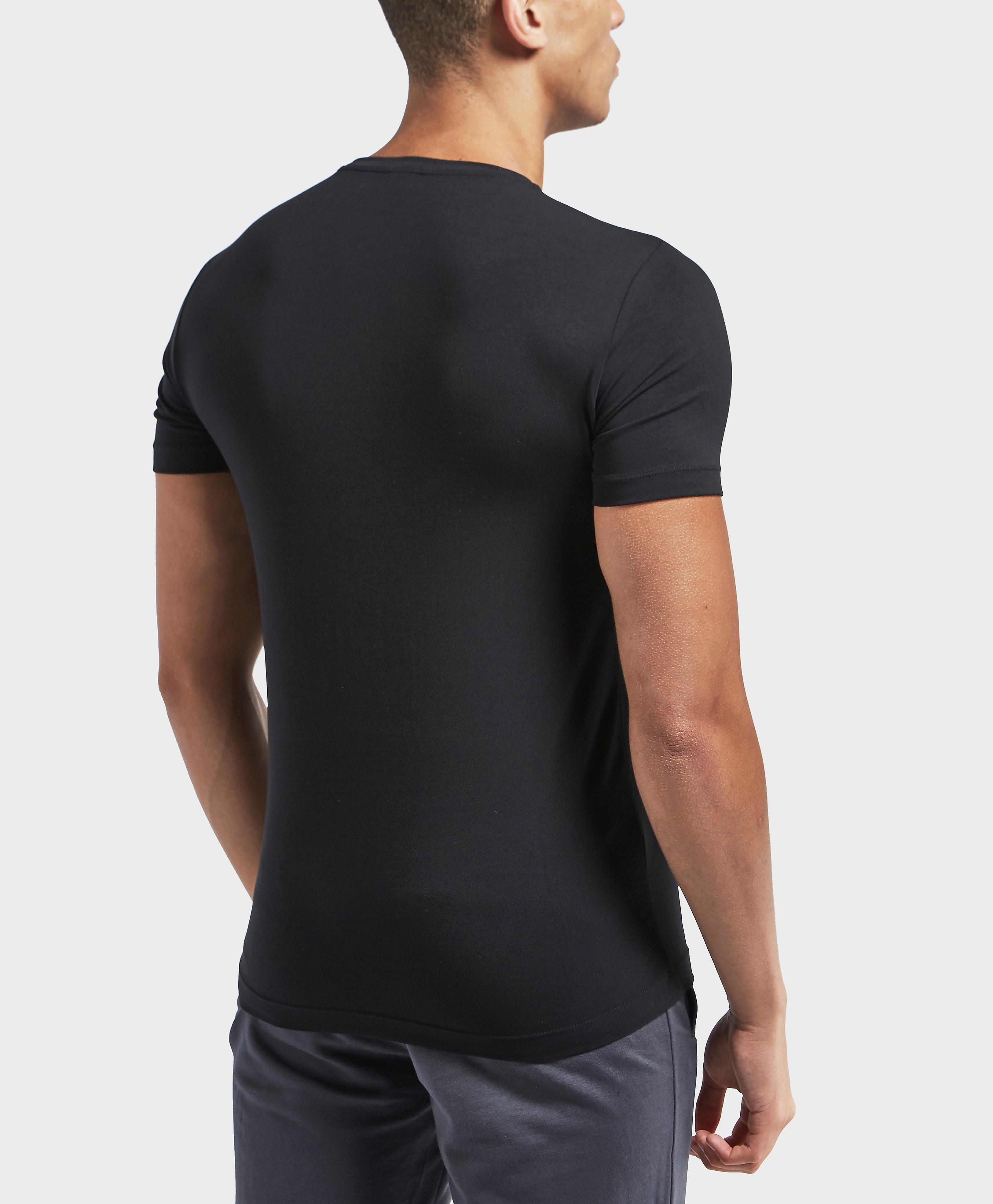 Emporio Armani EA7 Shield Short Sleeve Crew T-Shirt