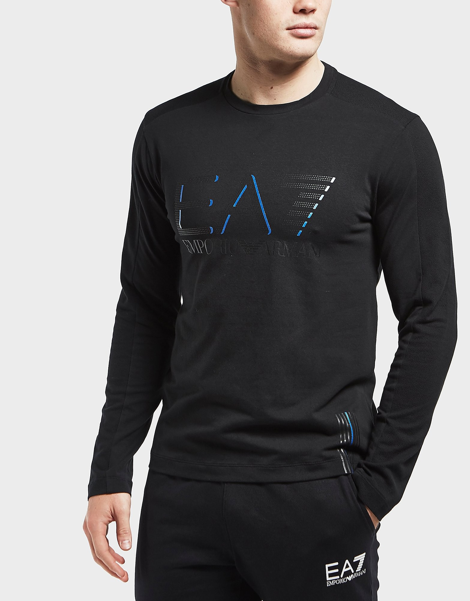 Emporio Armani EA7 Evo Plus Long Sleeve Crew T-Shirt