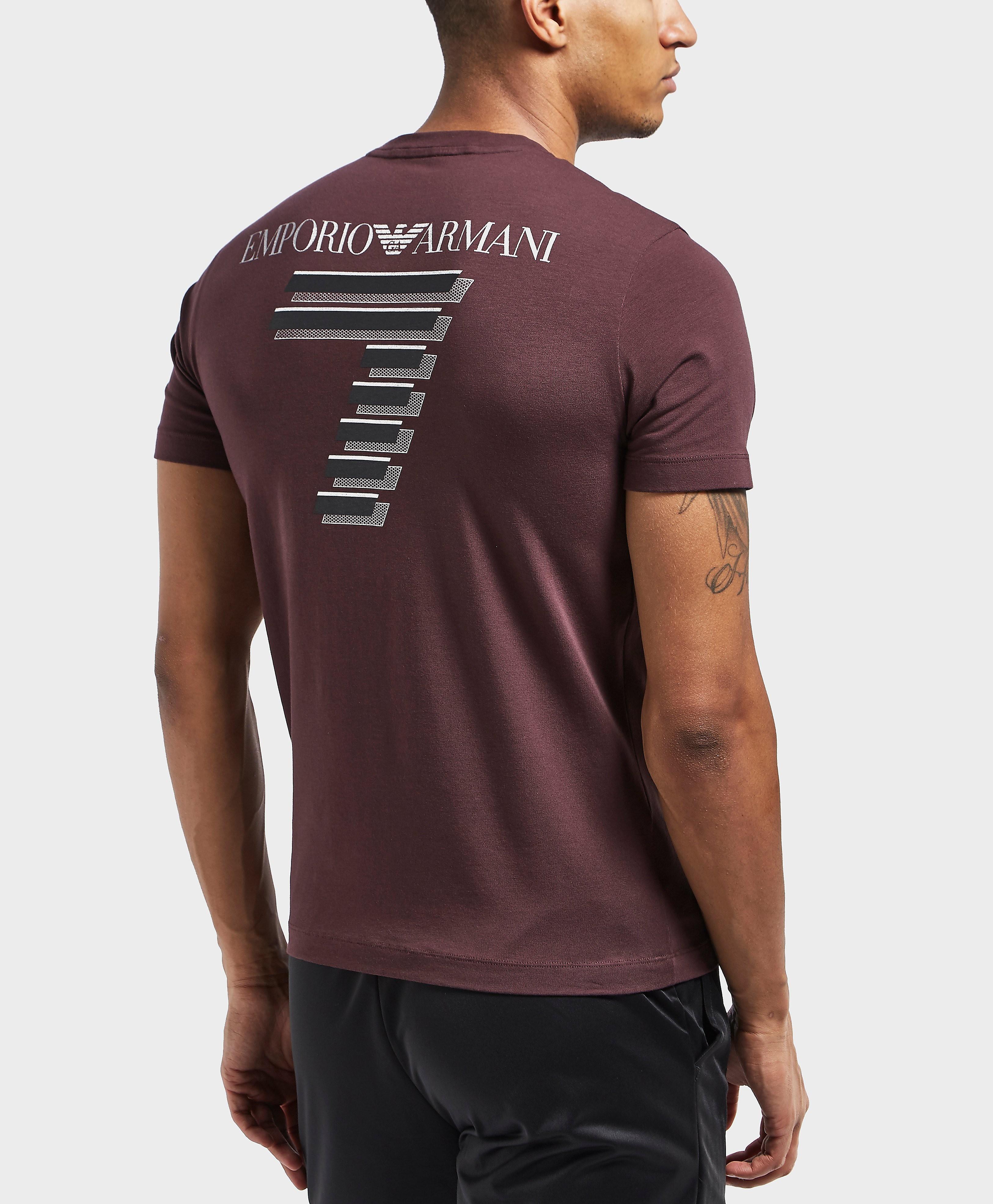 Emporio Armani EA7 Soccer Short Sleeve T-Shirt