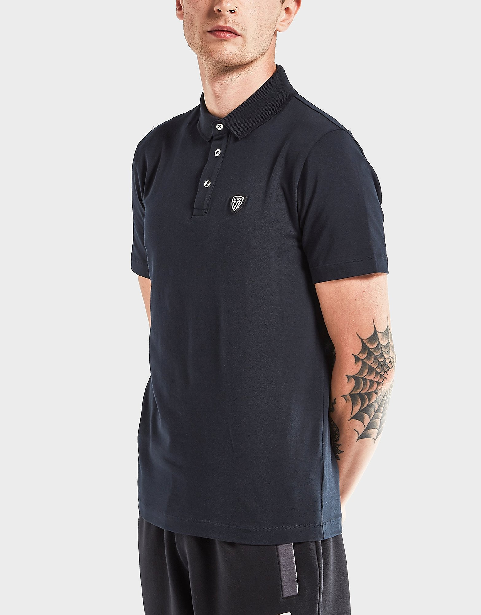 Emporio Armani EA7 Soccer Short Sleeve Polo Shirt