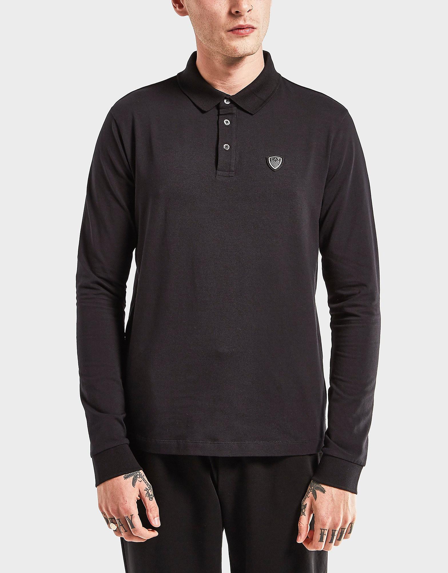 Emporio Armani EA7 Soccer Long Sleeve Polo Shirt