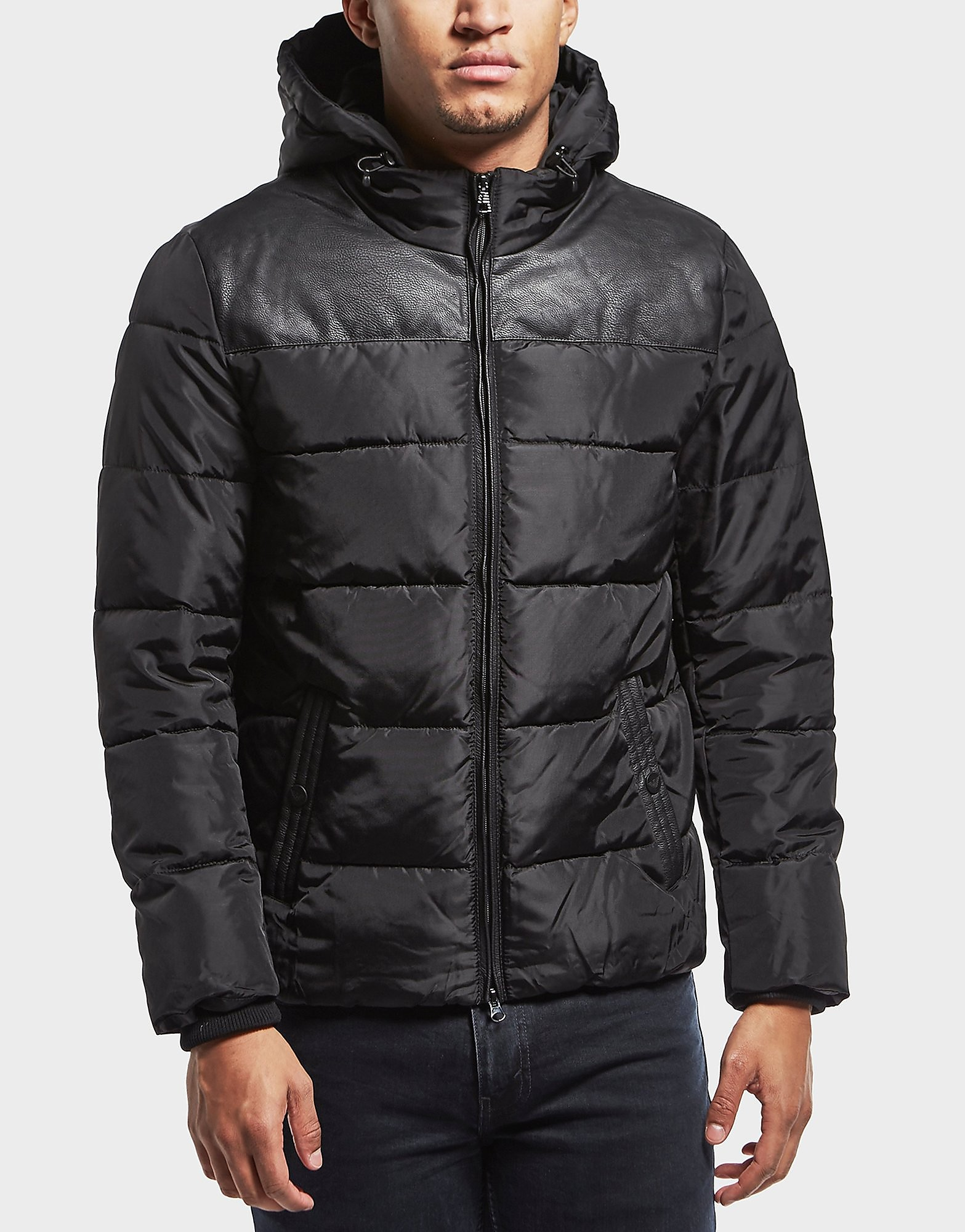 Emporio Armani EA7 Trim Padded Jacket