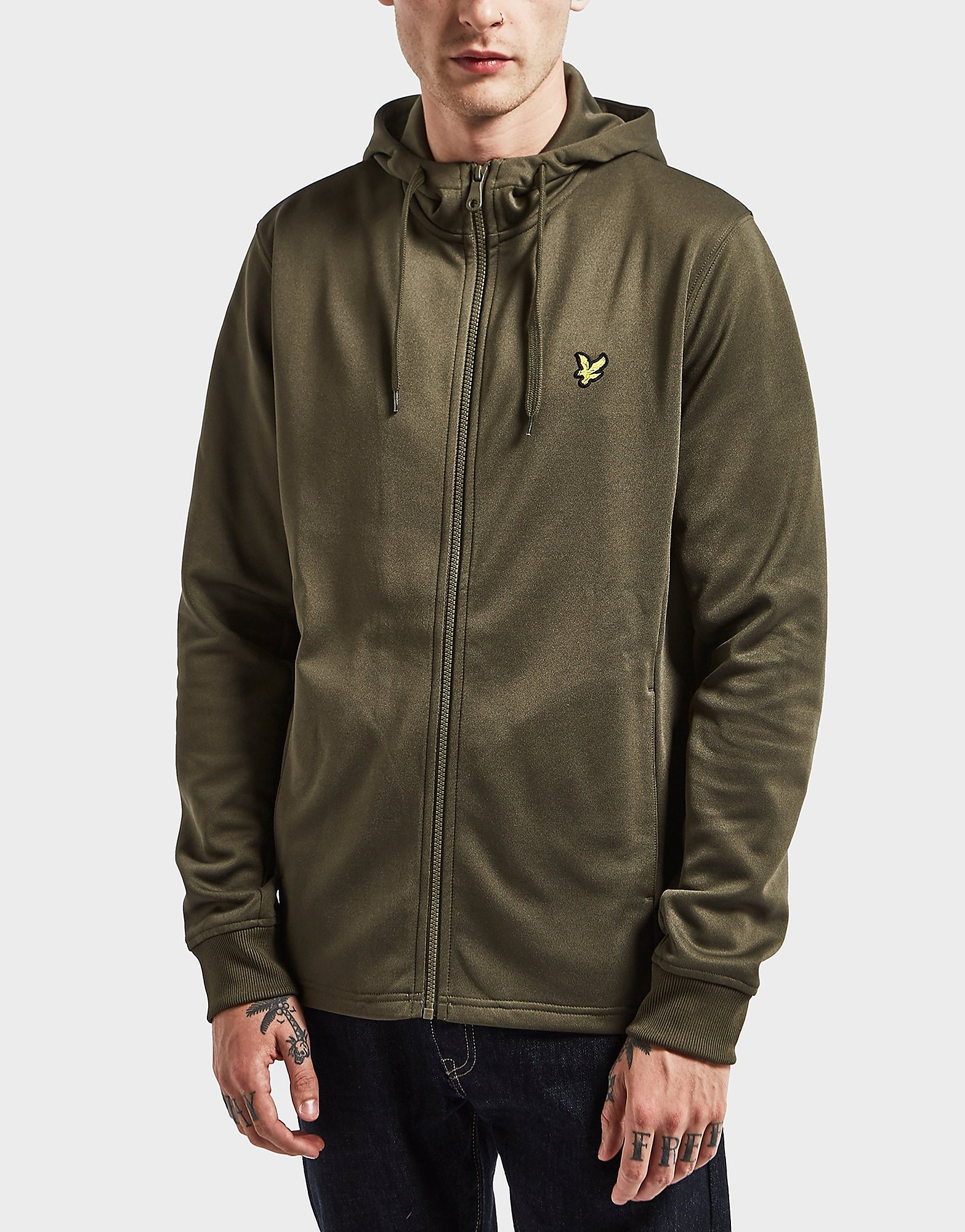 Lyle & Scott Full-Zip Tricot Hoody
