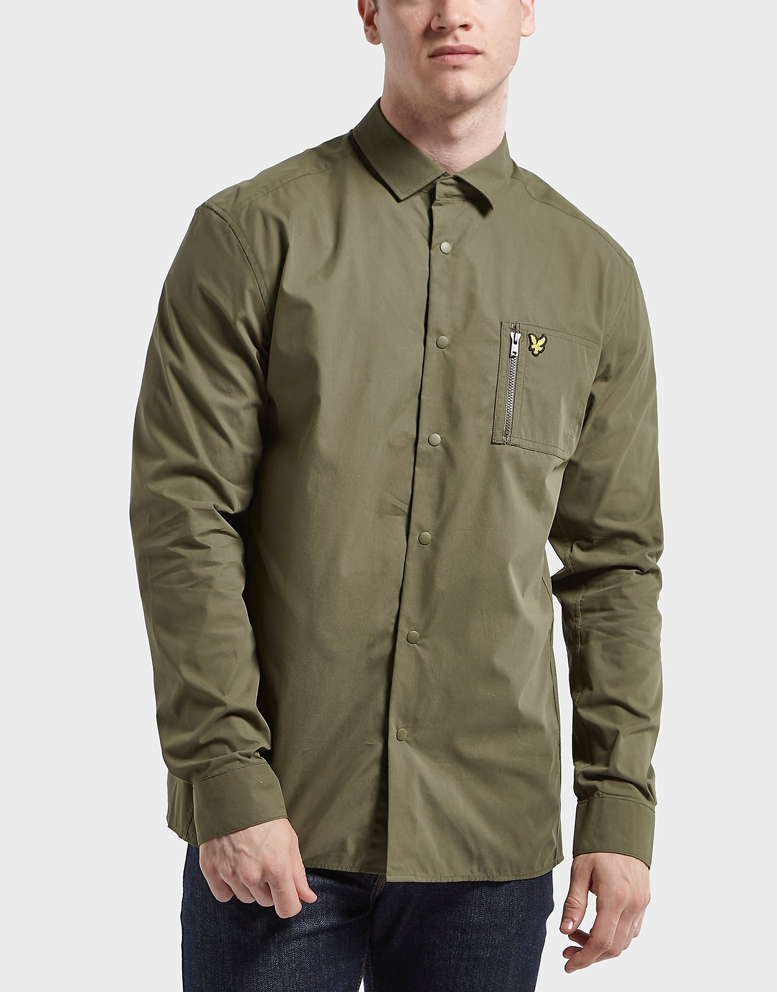 Lyle & Scott Long Sleeve Overshirt