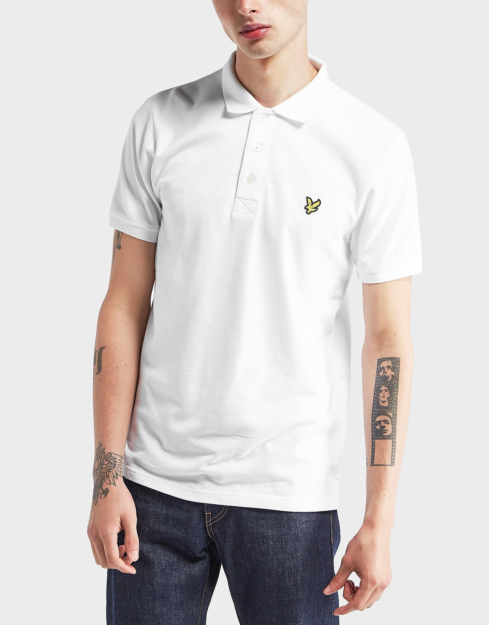 Lyle & Scott Pique Short Sleeve Polo Shirt