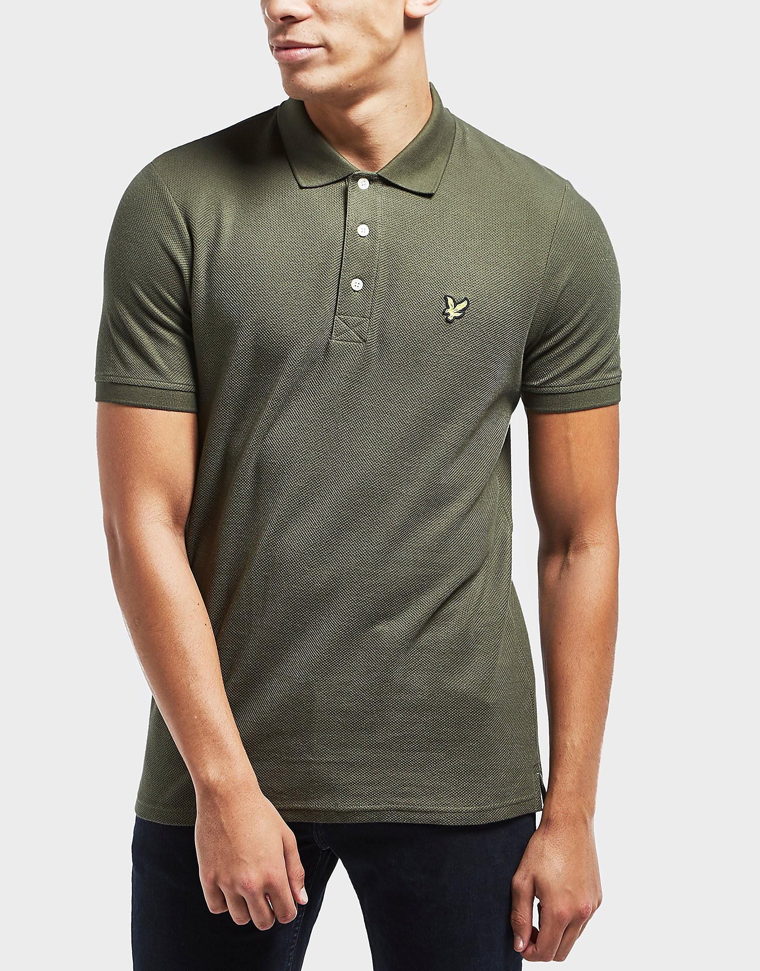 Lyle & Scott Honeycomb Short Sleeve Polo Shirt