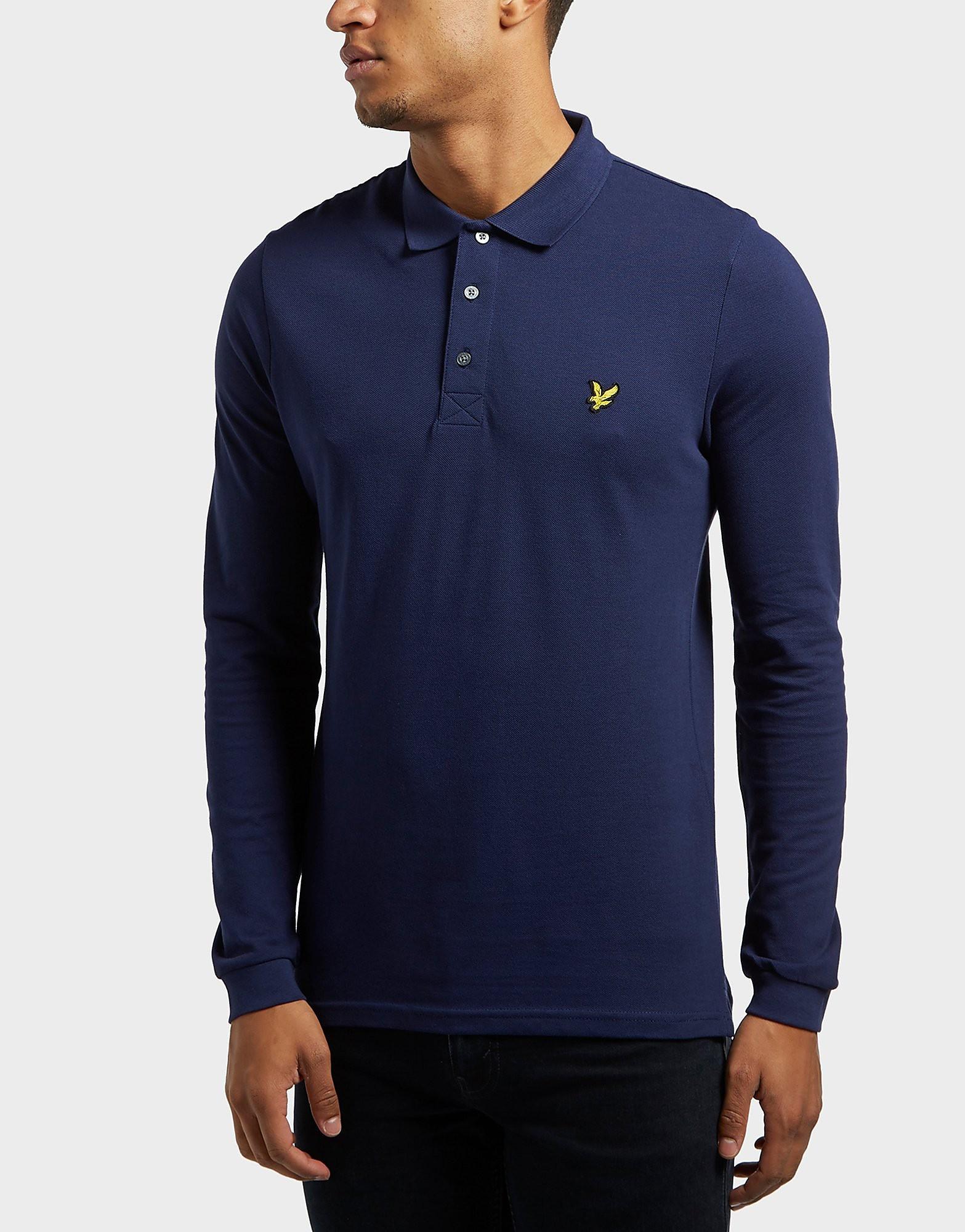 Lyle & Scott Long Sleeve Polo Shirt