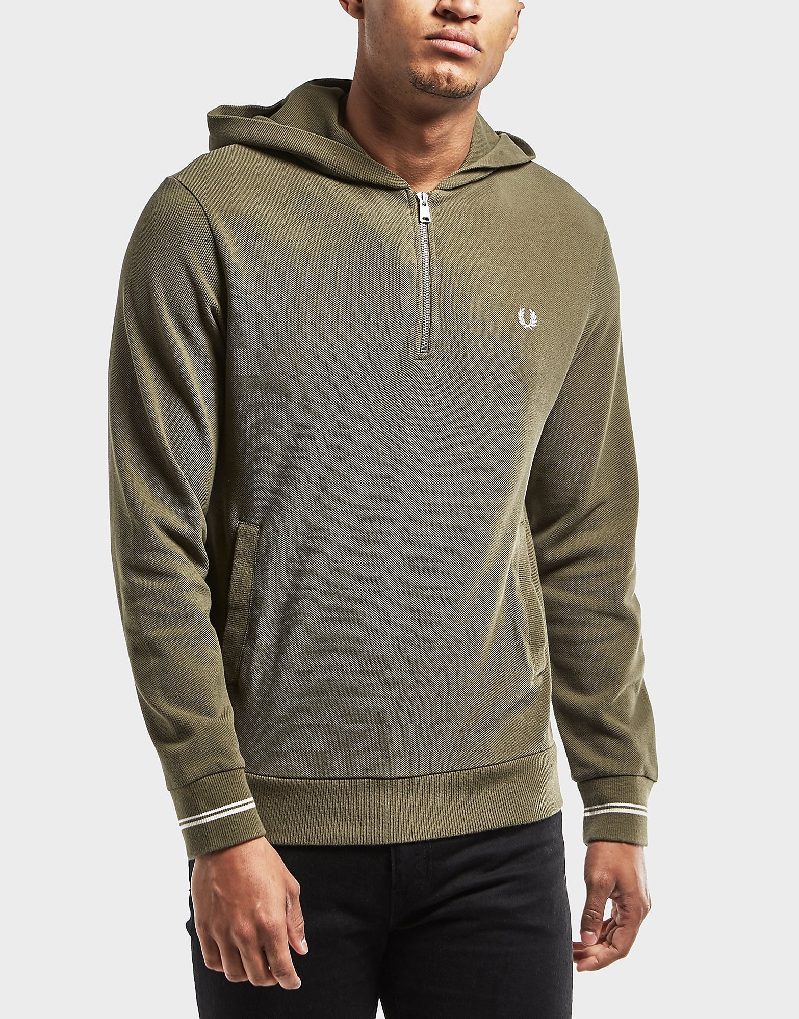 Fred Perry Pique Hoody - Exclusive