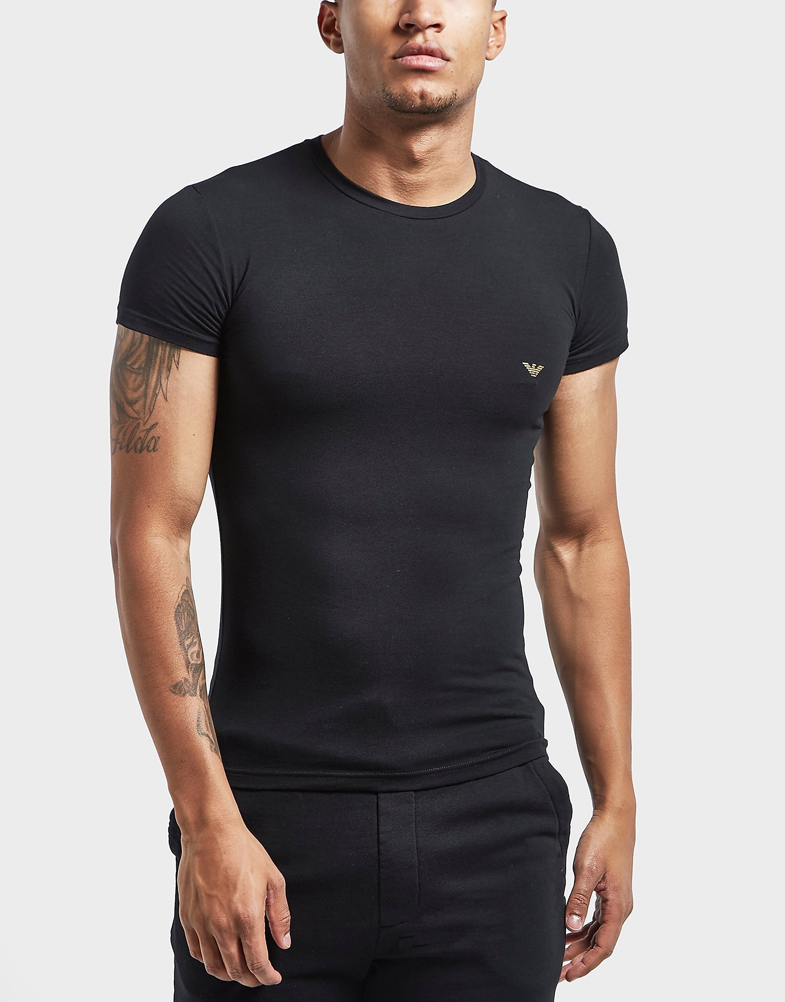 Emporio Armani Metal Eagle Short Sleeve T-Shirt