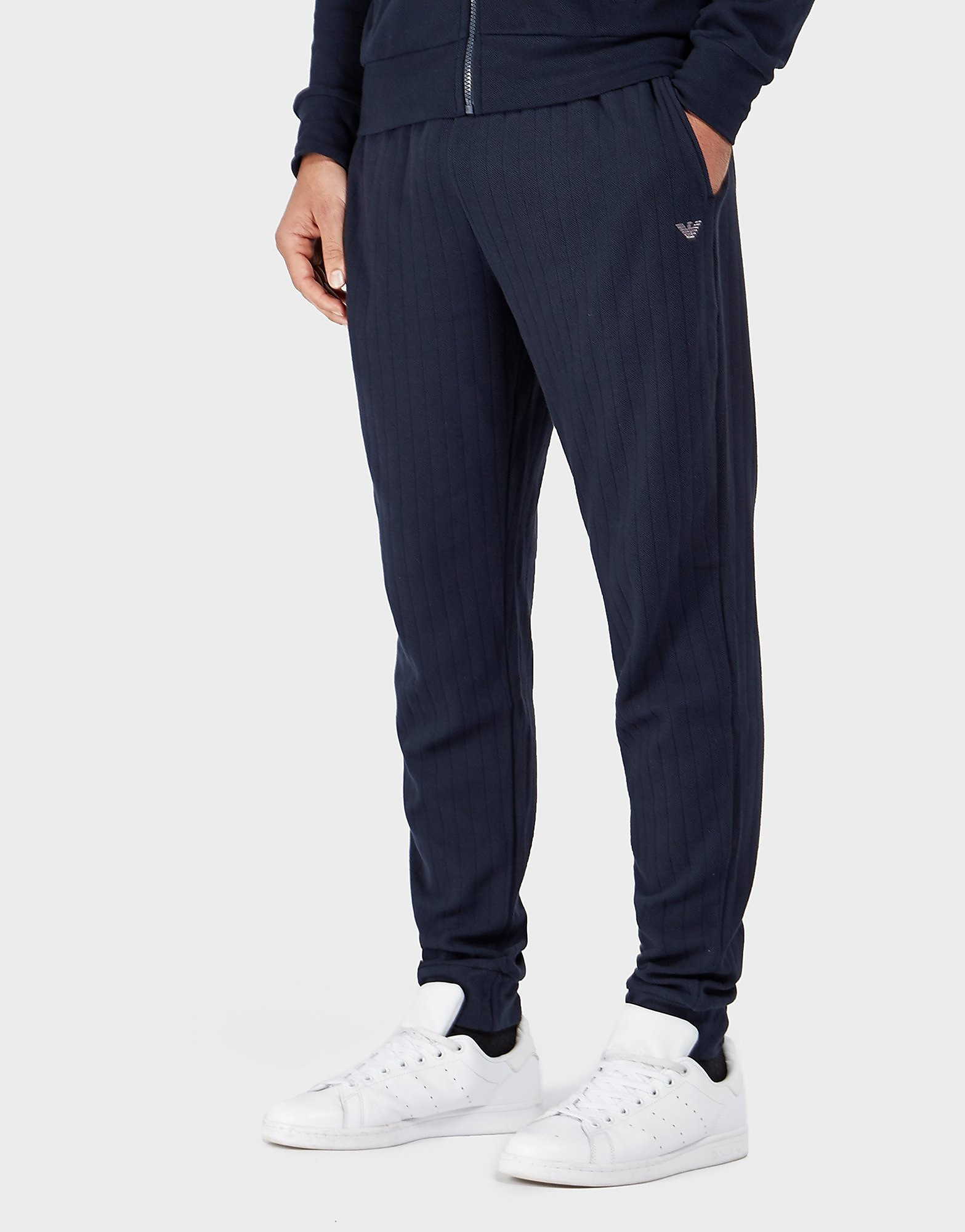 Emporio Armani Interlock Cuffed Track Pants