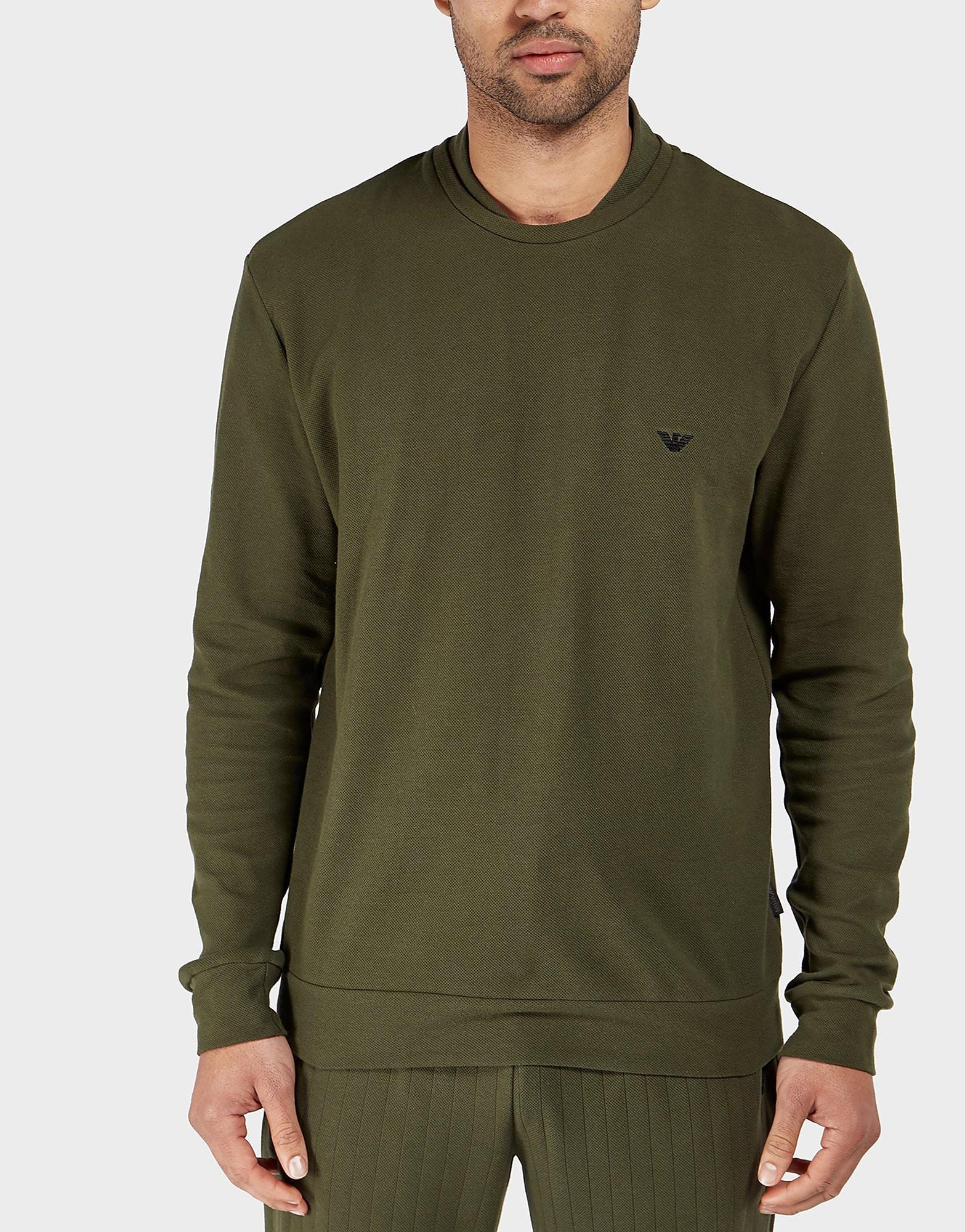 Emporio Armani Interlock Crew Sweatshirt