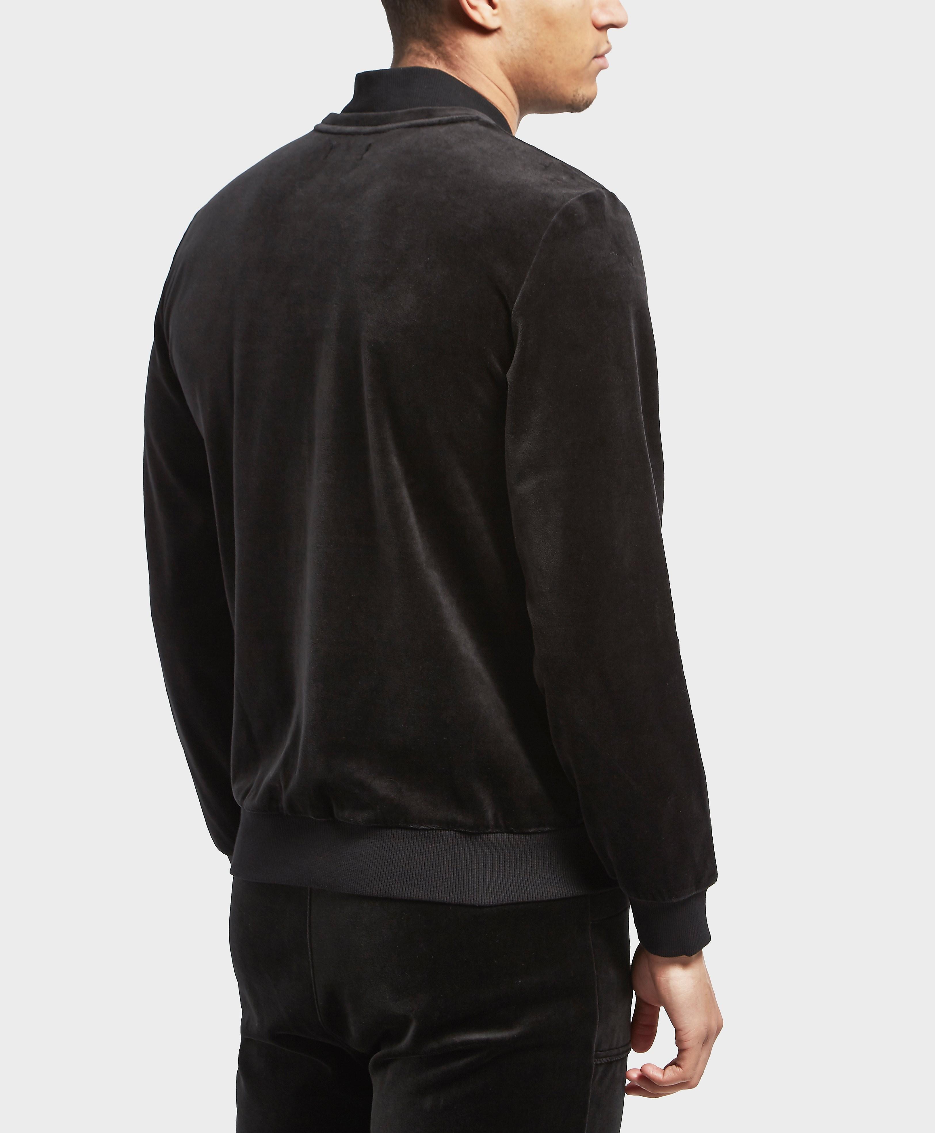Emporio Armani Velour Sweatshirt