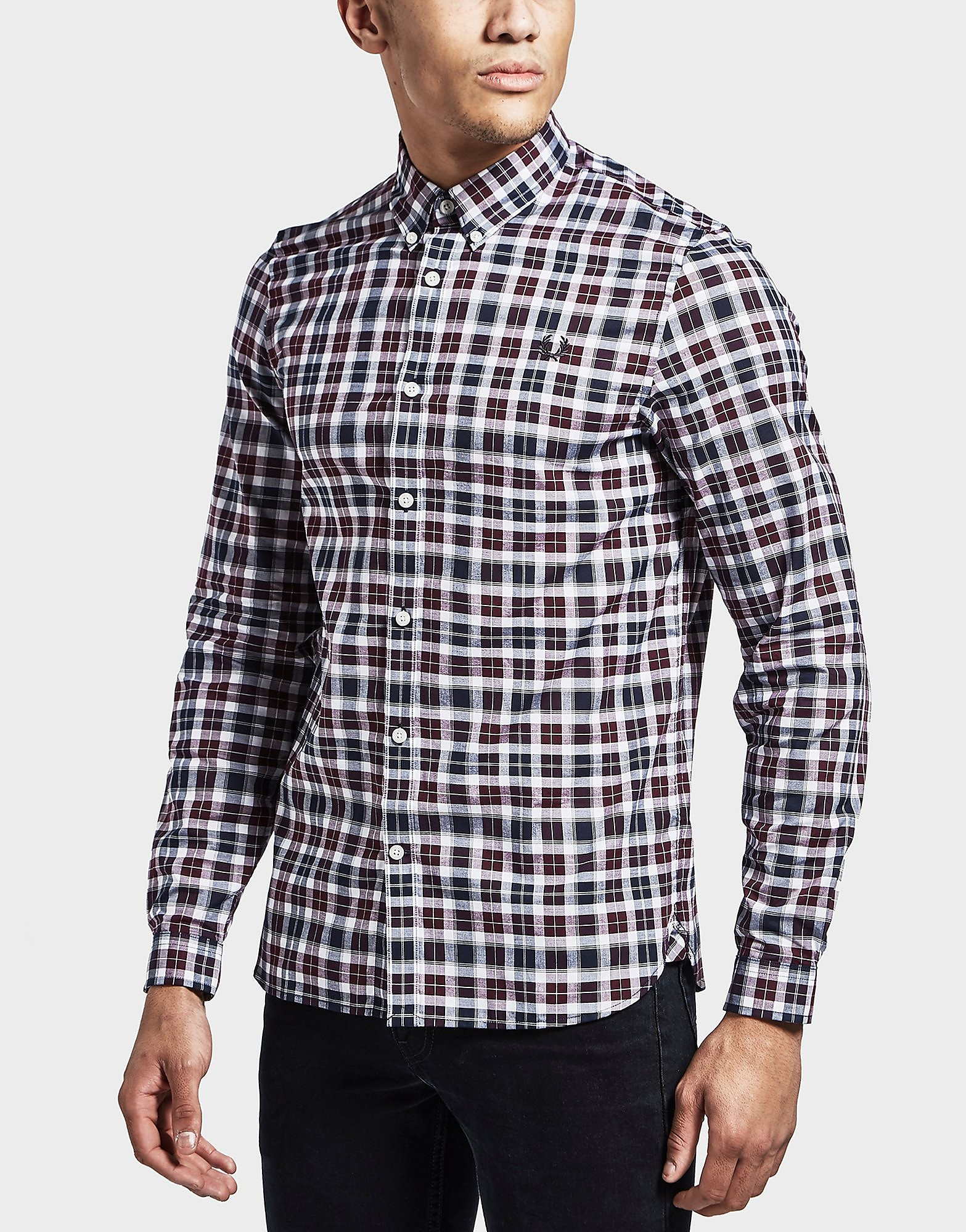 Fred Perry Tartan Long Sleeve Shirt