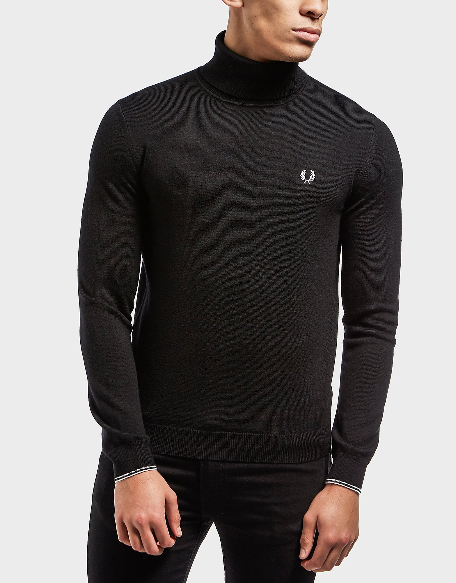 Fred Perry Knit Roll Neck Jumper