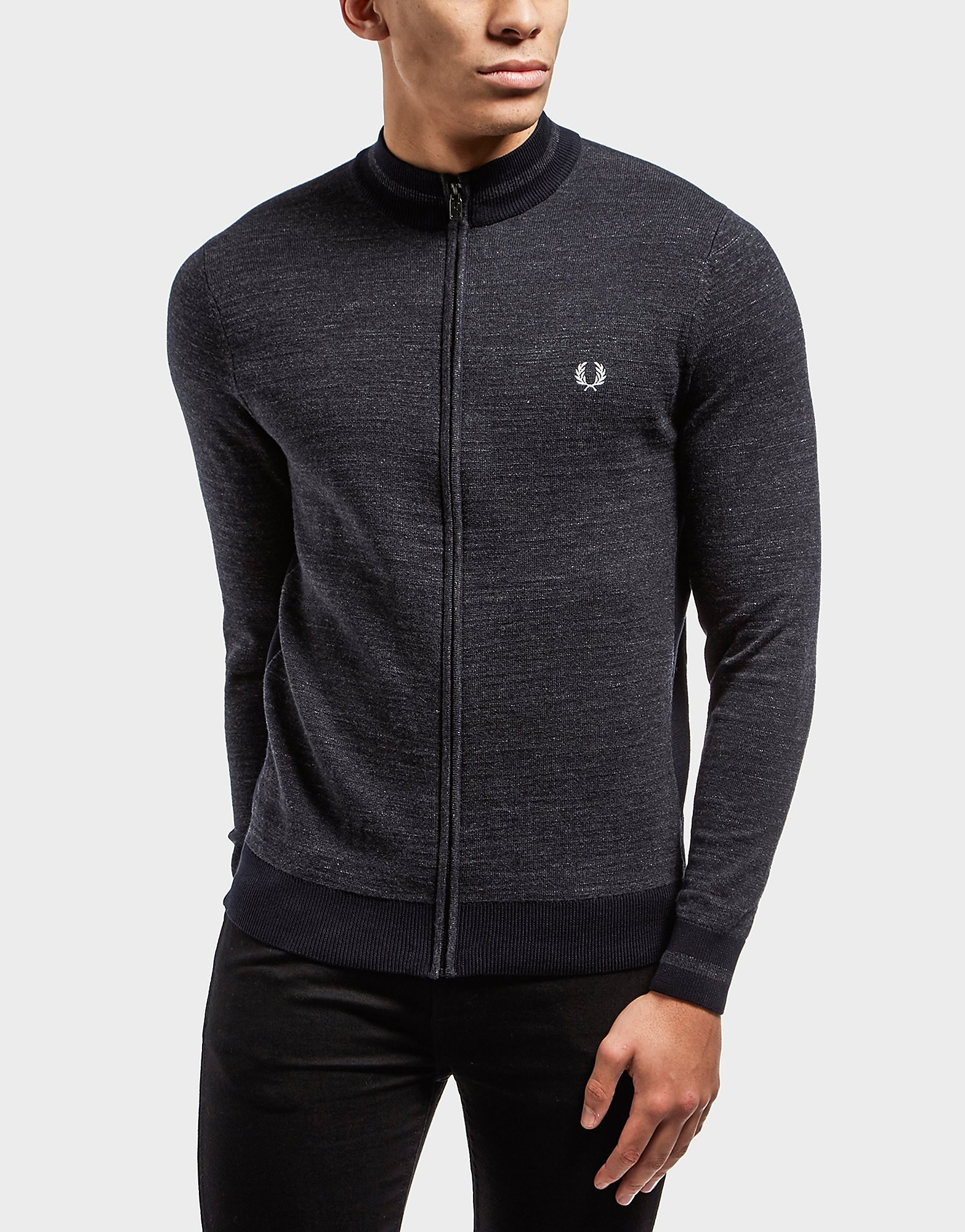Fred Perry Yarn Full Zip Jumper