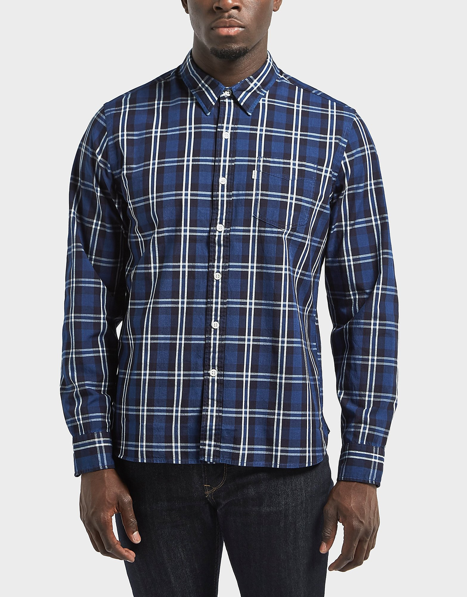 Levis Sunset Check Long Sleeve Shirt