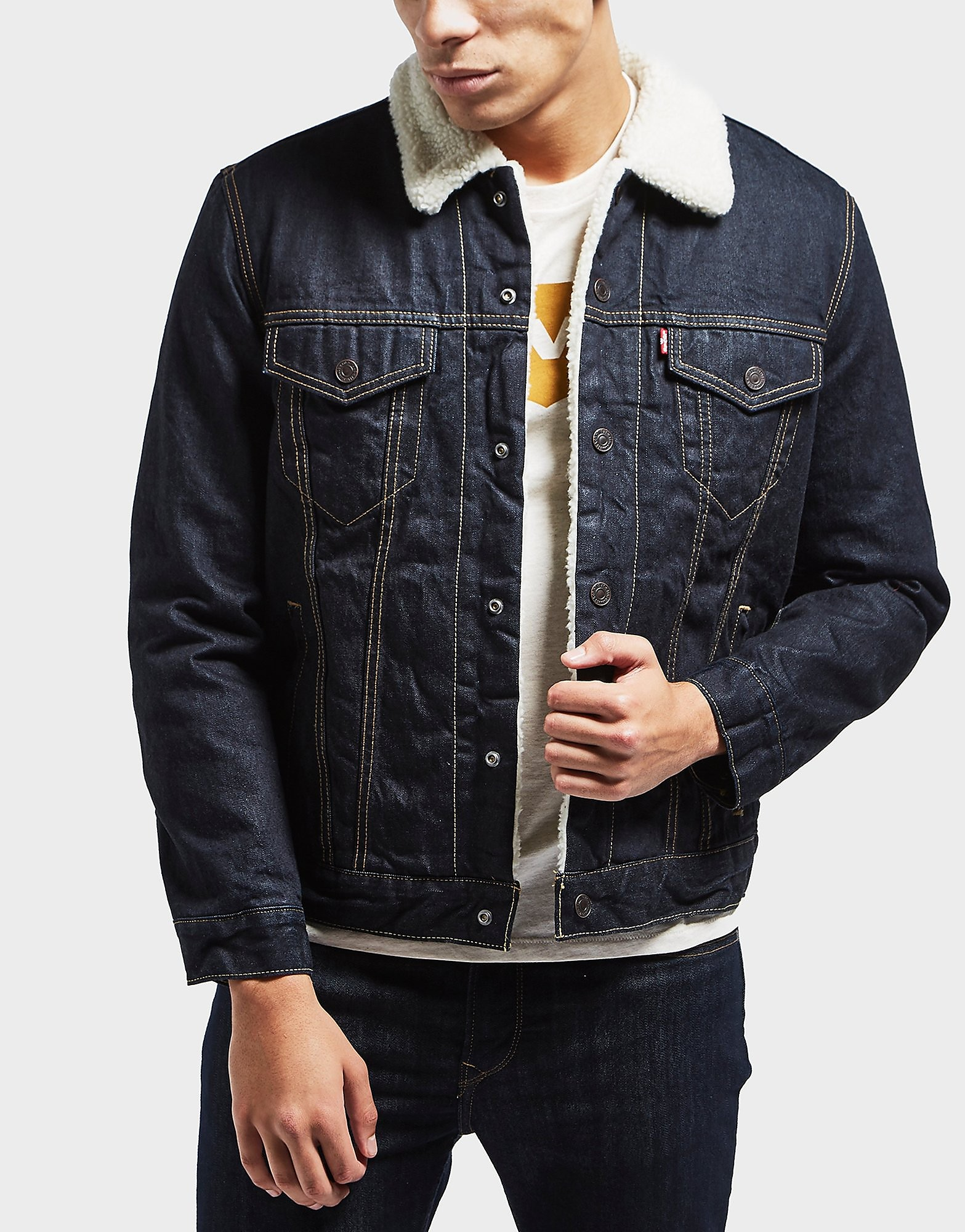Levis Sherpa Denim Jacket