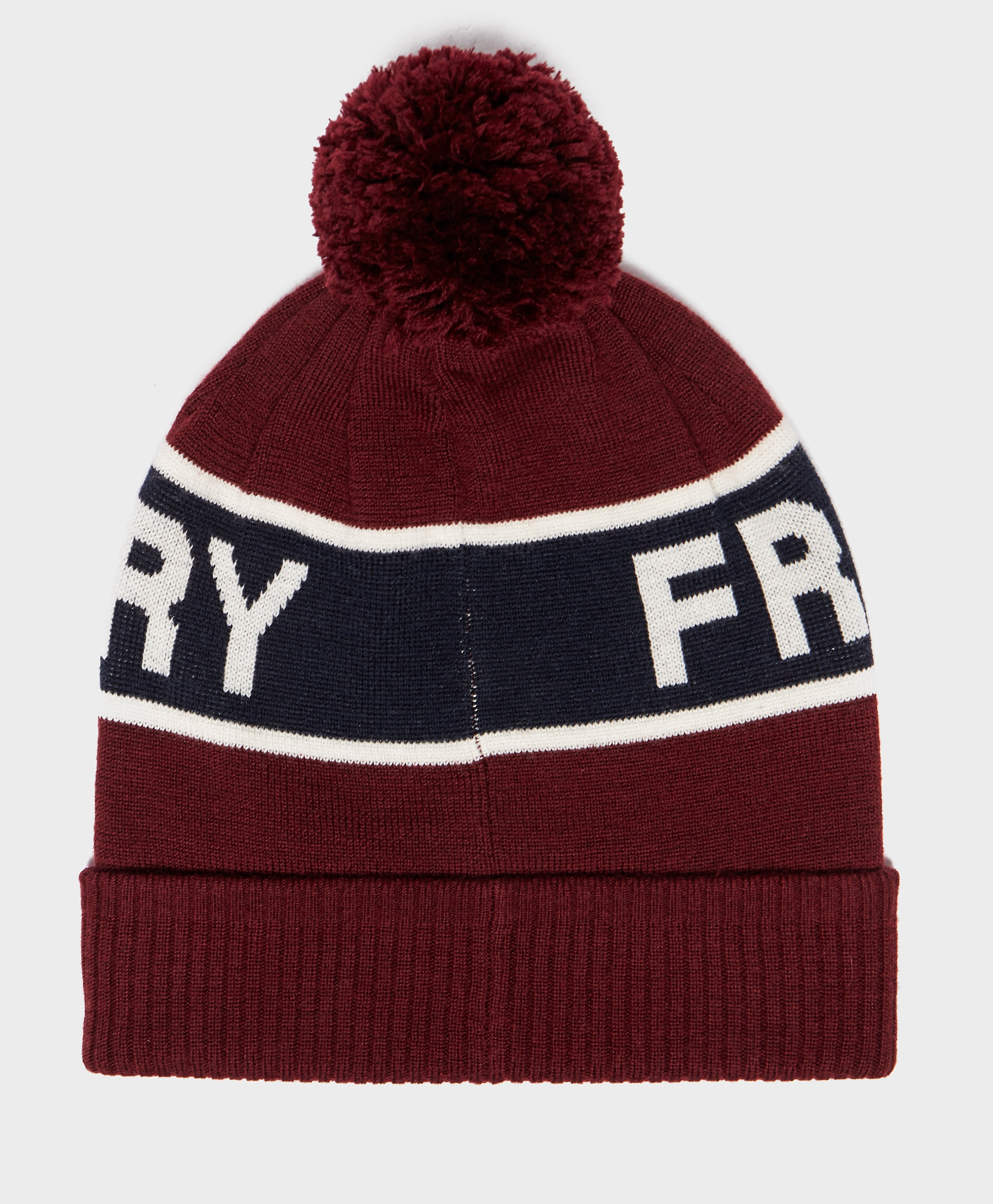Fred Perry Bobble Beanie Hat