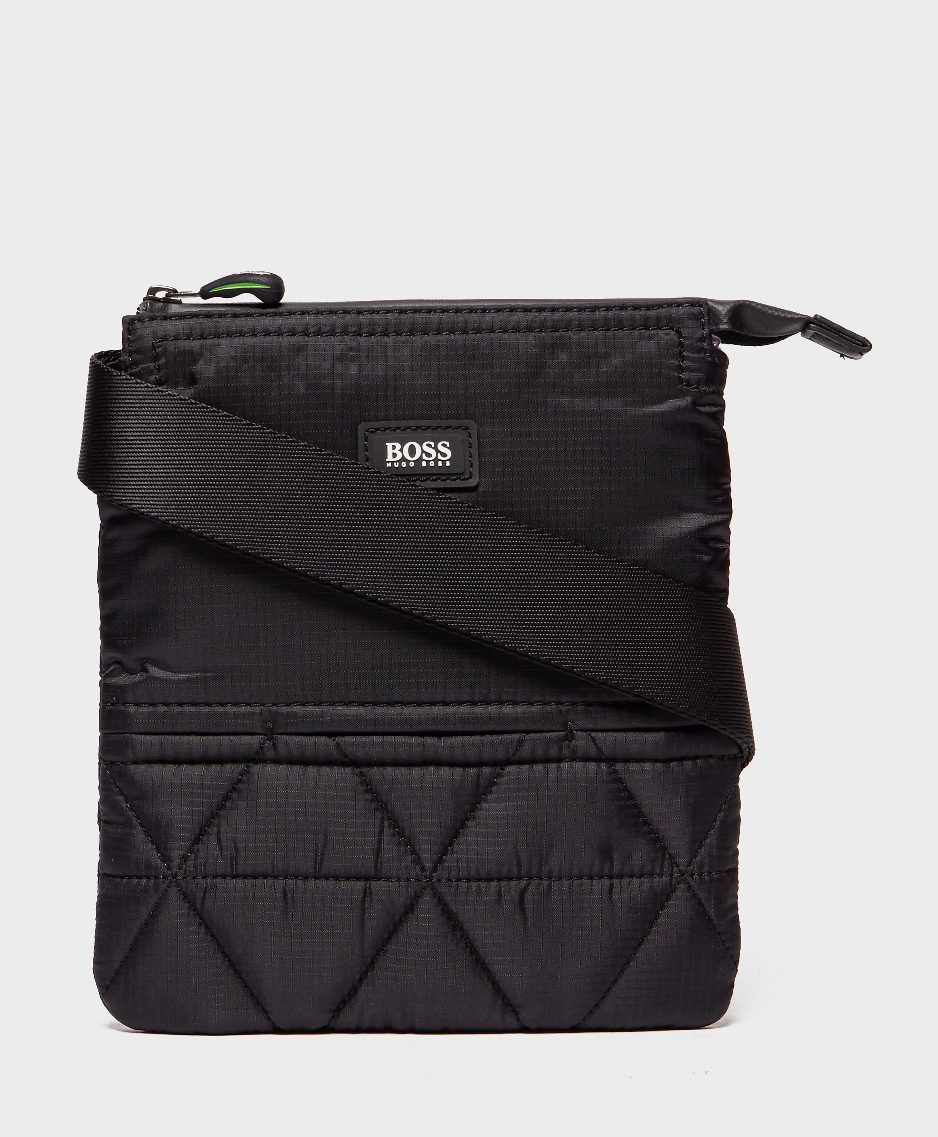 BOSS Green Stash Pouch Bag