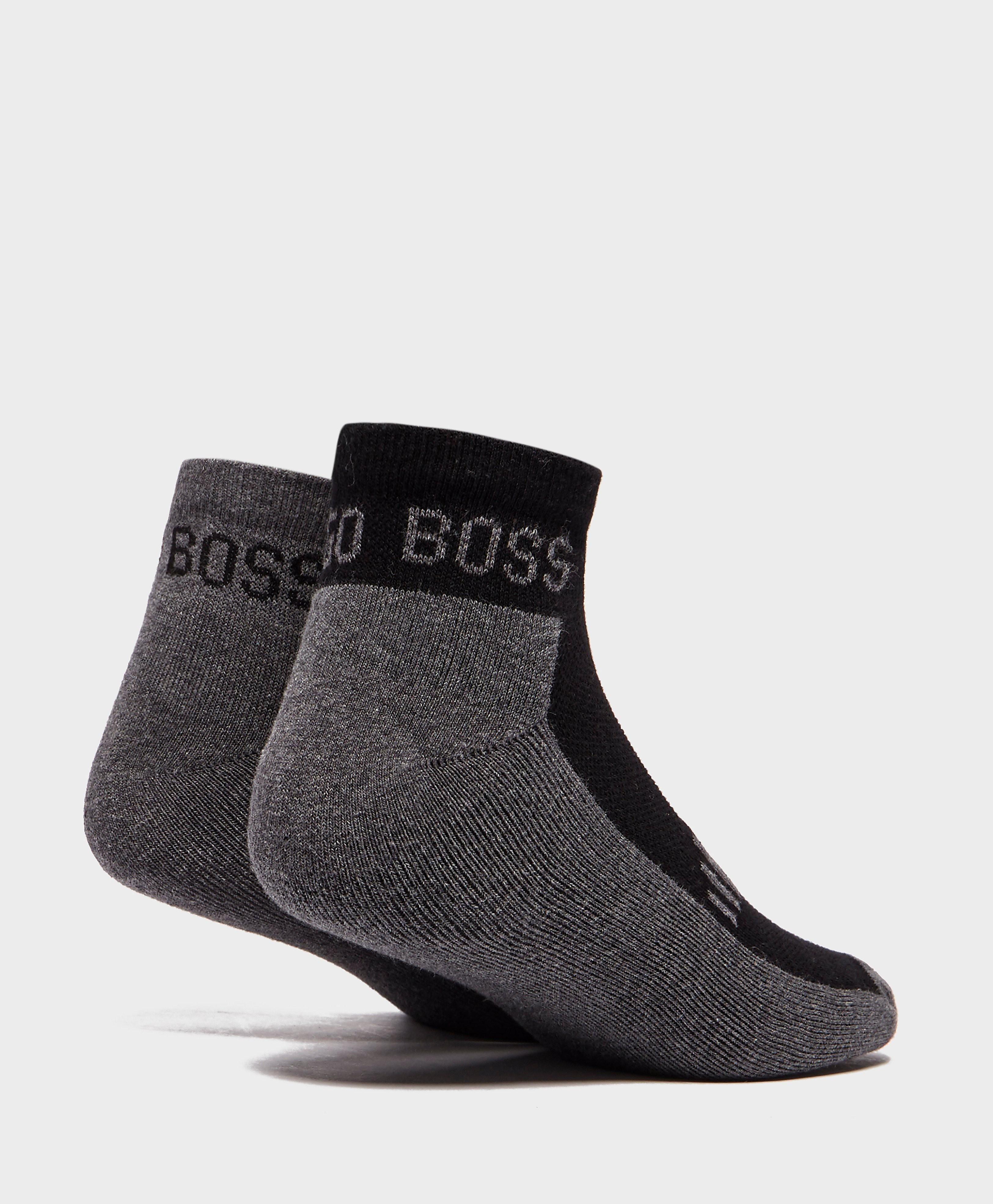 BOSS 2-Pack Ankle Socks