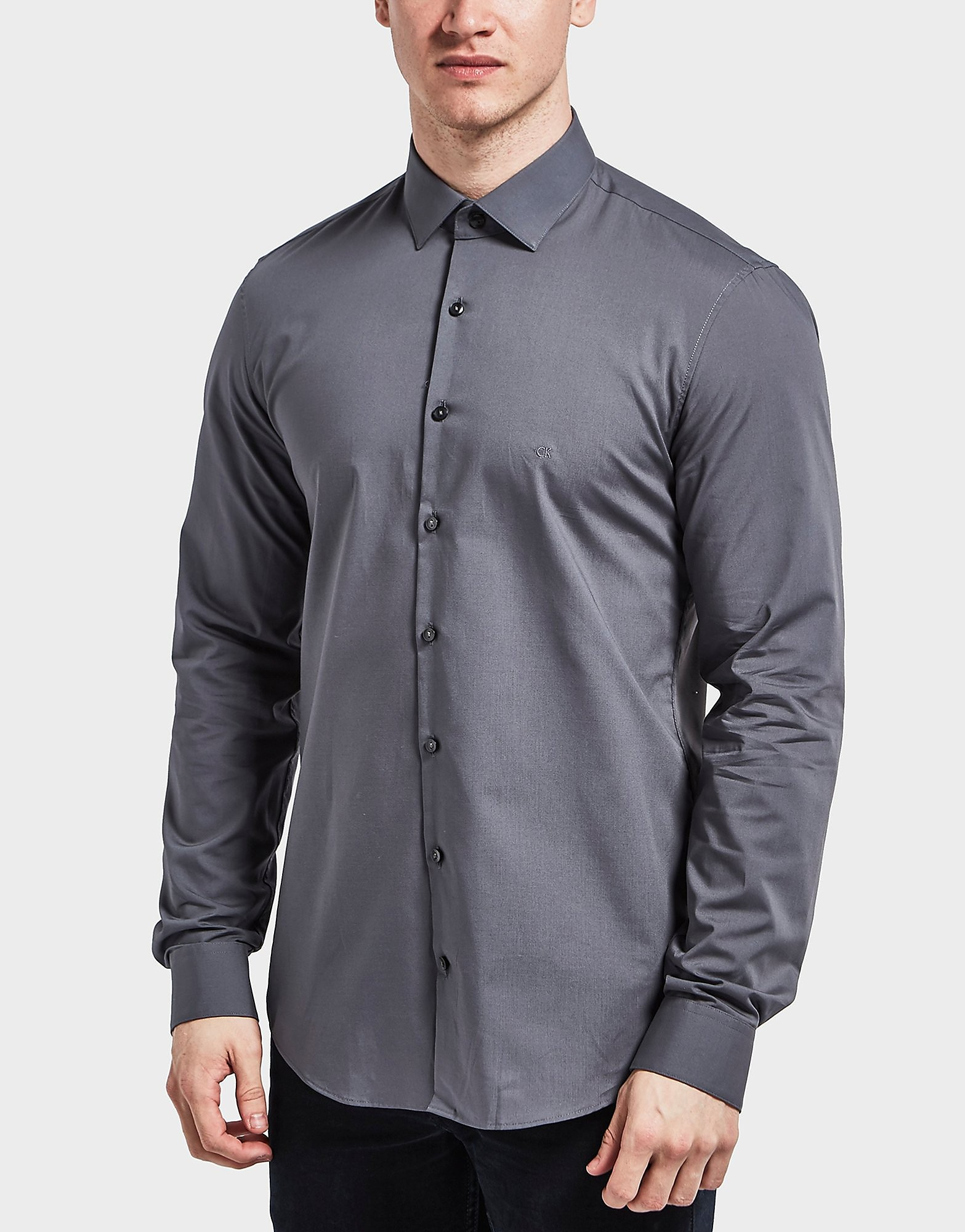 Calvin Klein Poplin Long Sleeve Shirt
