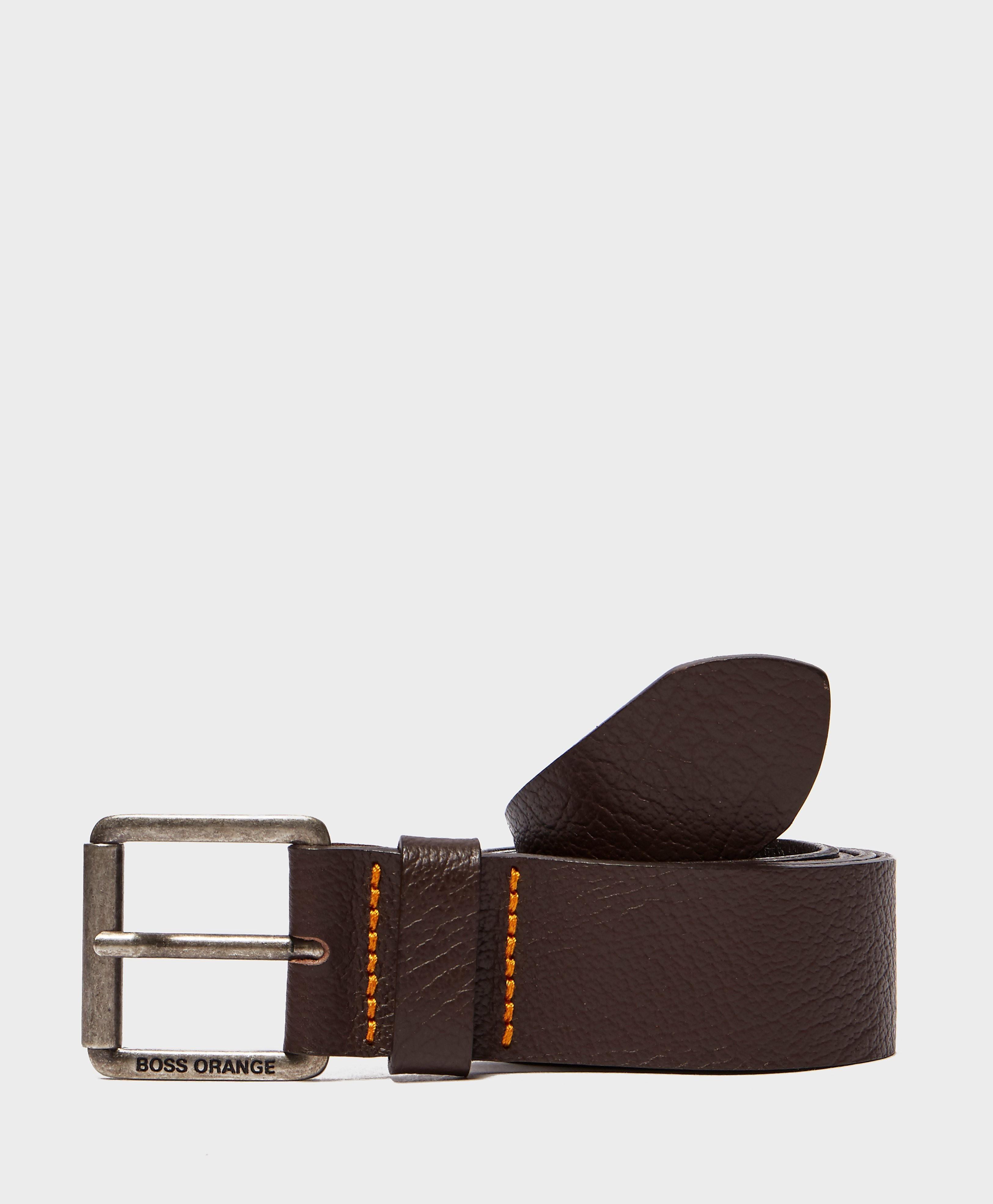BOSS Orange Leather Belt