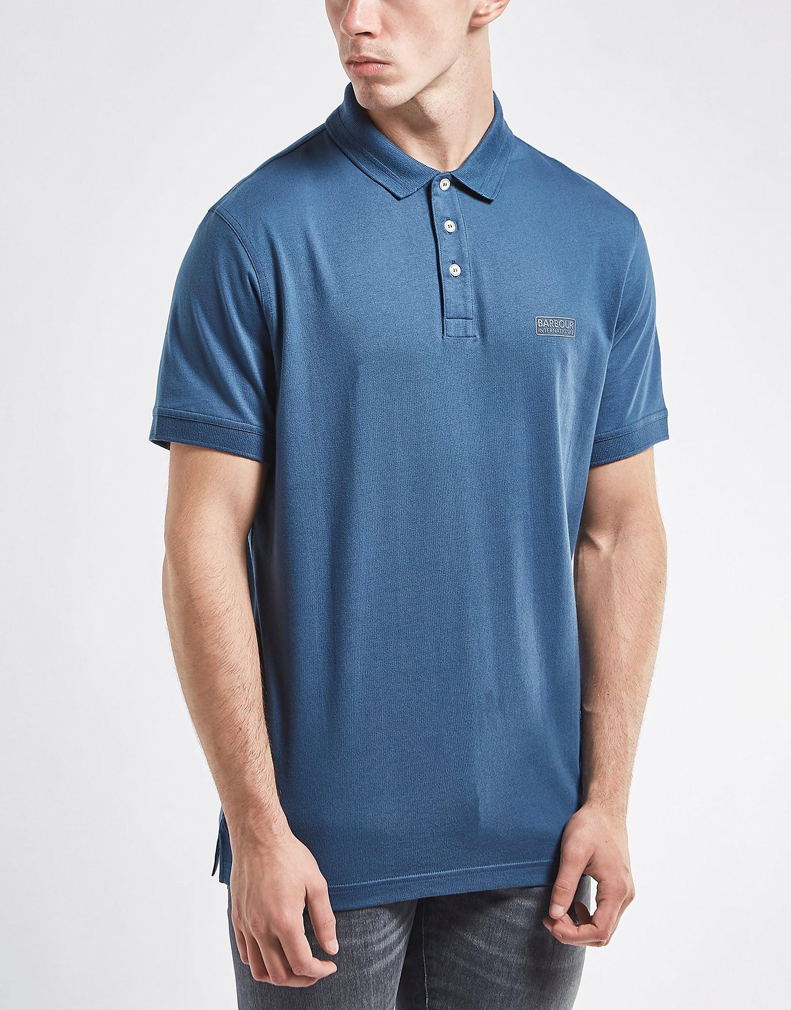 Barbour International Logo Short Sleeve Polo Shirt