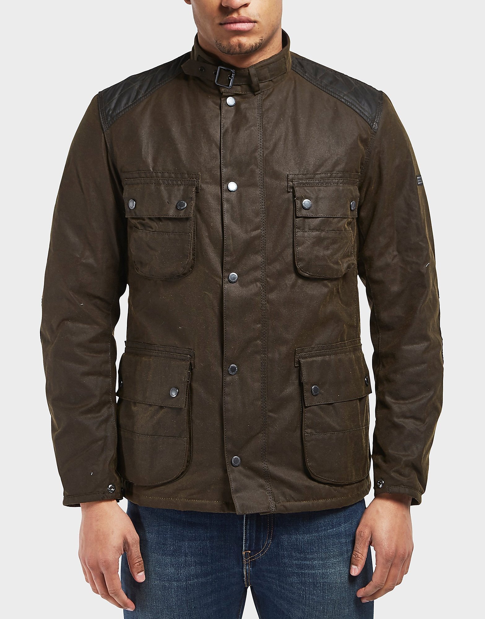 Barbour International Weir Waxed Lightweight Jacket