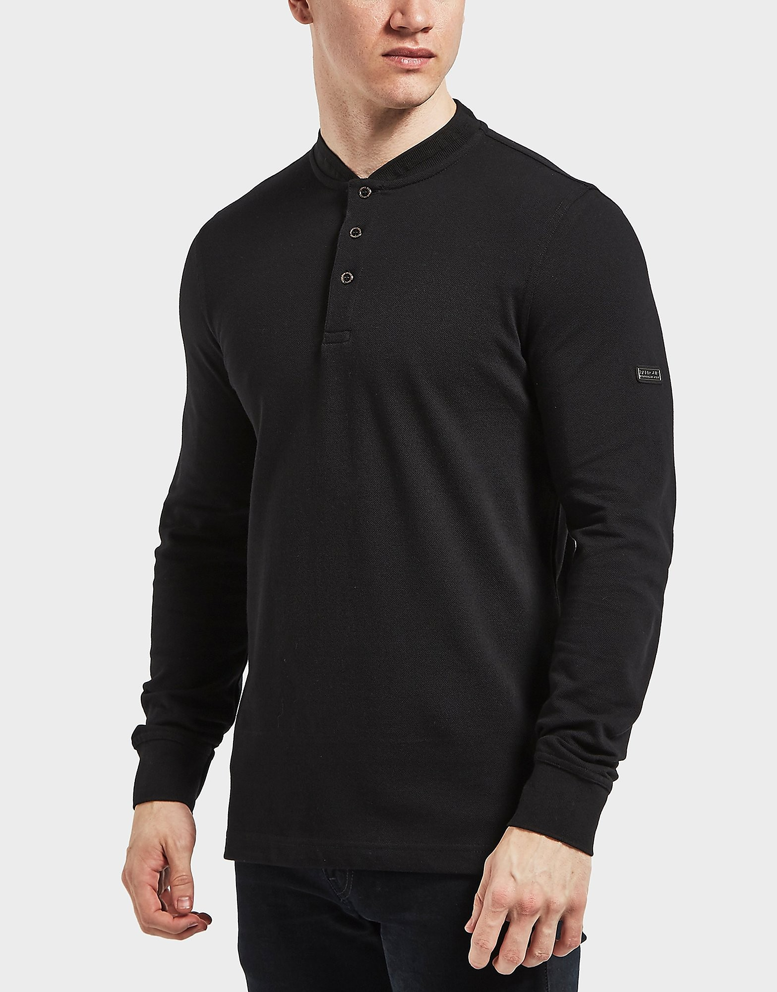 Barbour International Long Sleeve Polo Shirt