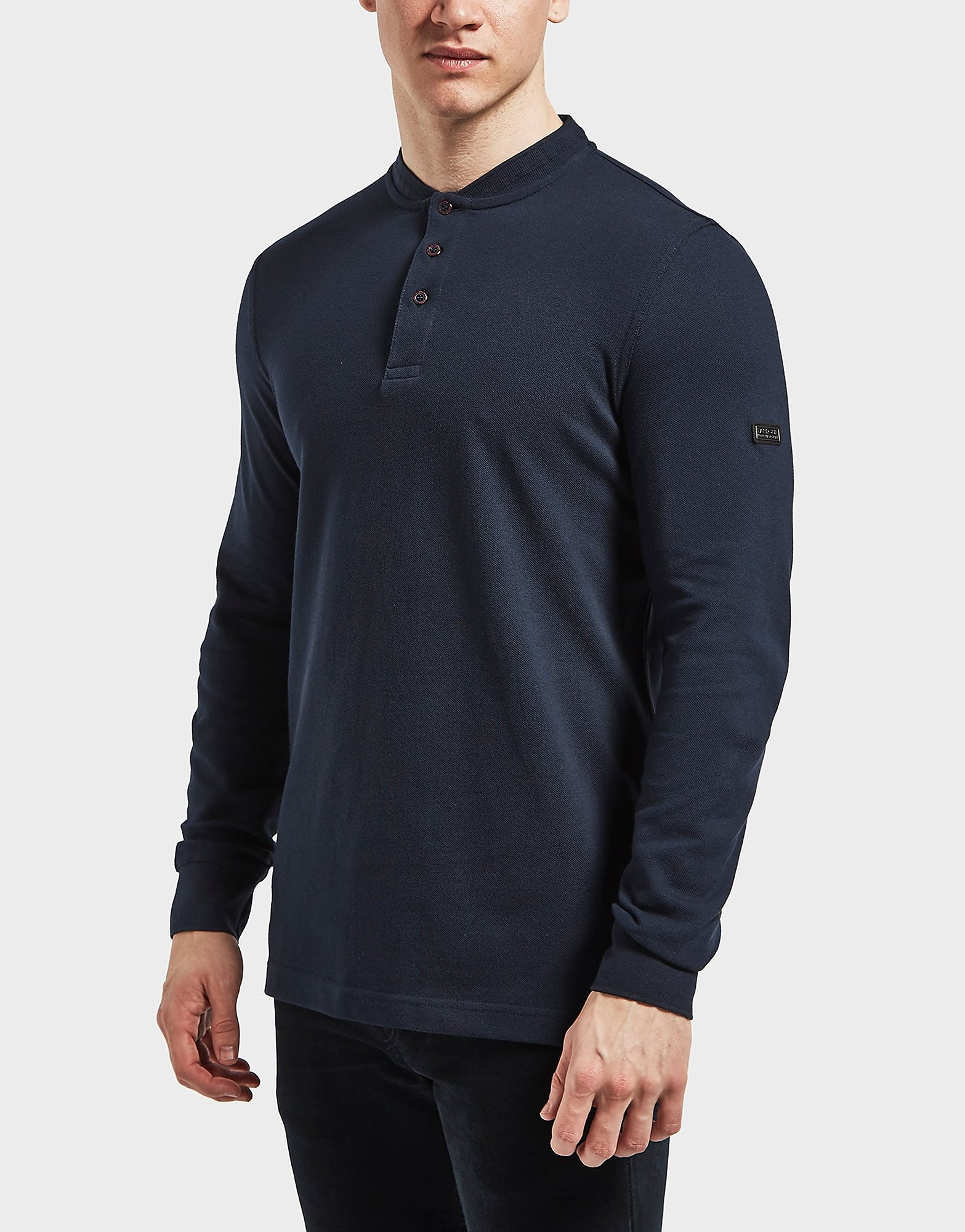 Barbour International Long Sleeve Polo Shirt