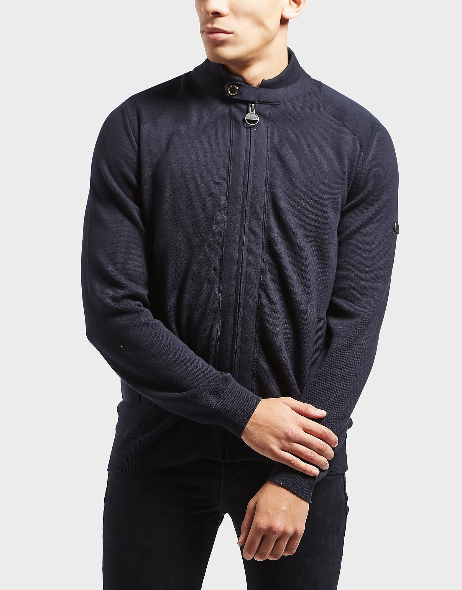 Barbour International Dart 2-In-1 Knit