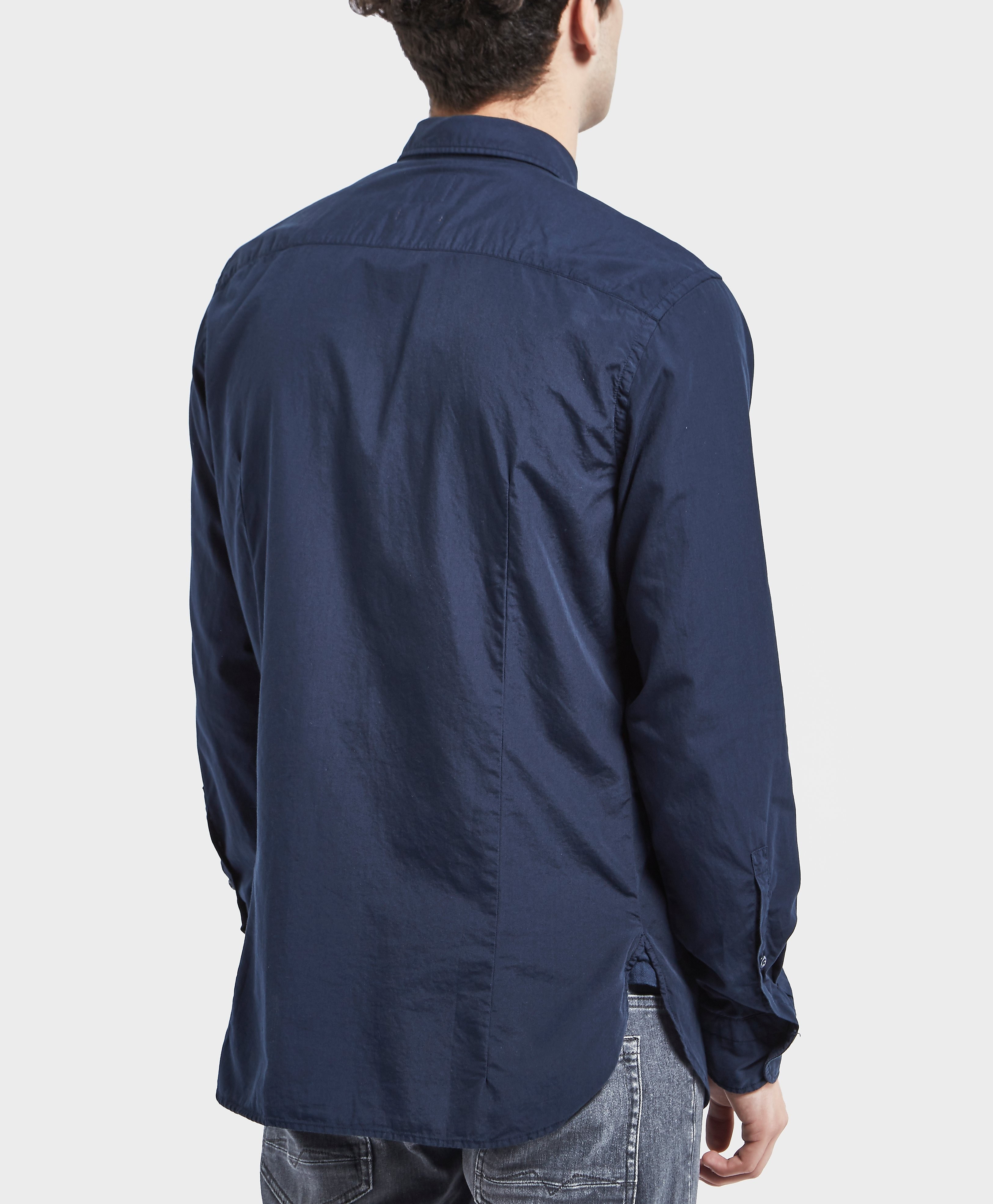 BOSS Orange Poplin Long Sleeve Shirt