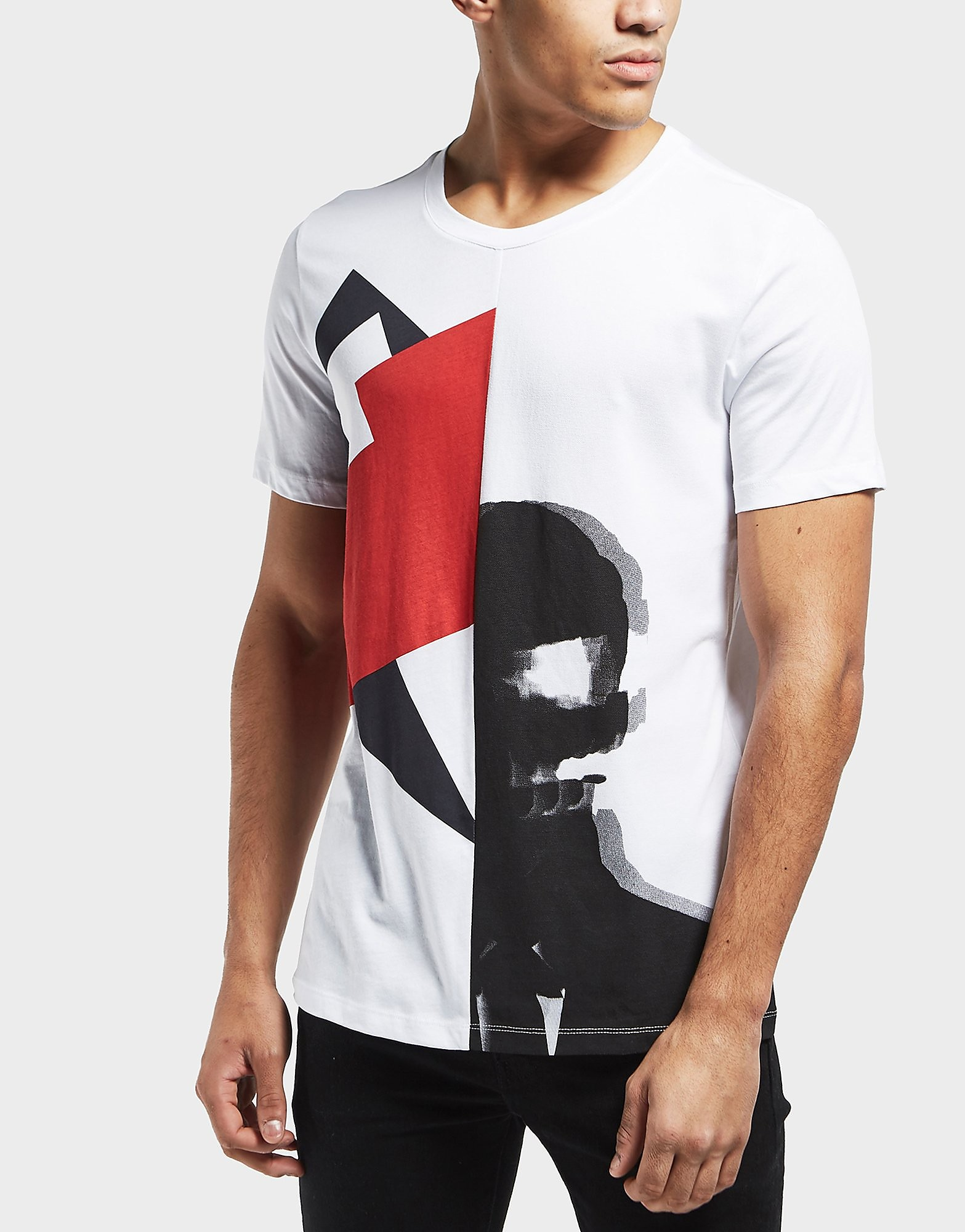 HUGO Face Short Sleeve T-Shirt