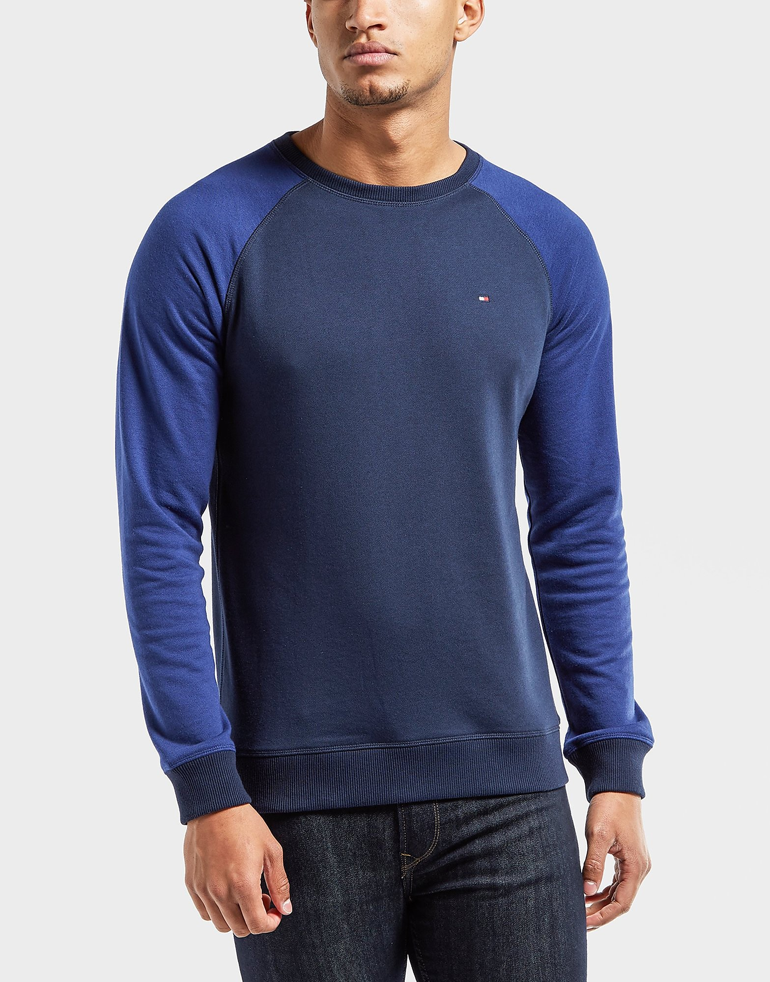Tommy Hilfiger Flag Crew Neck Sweatshirt