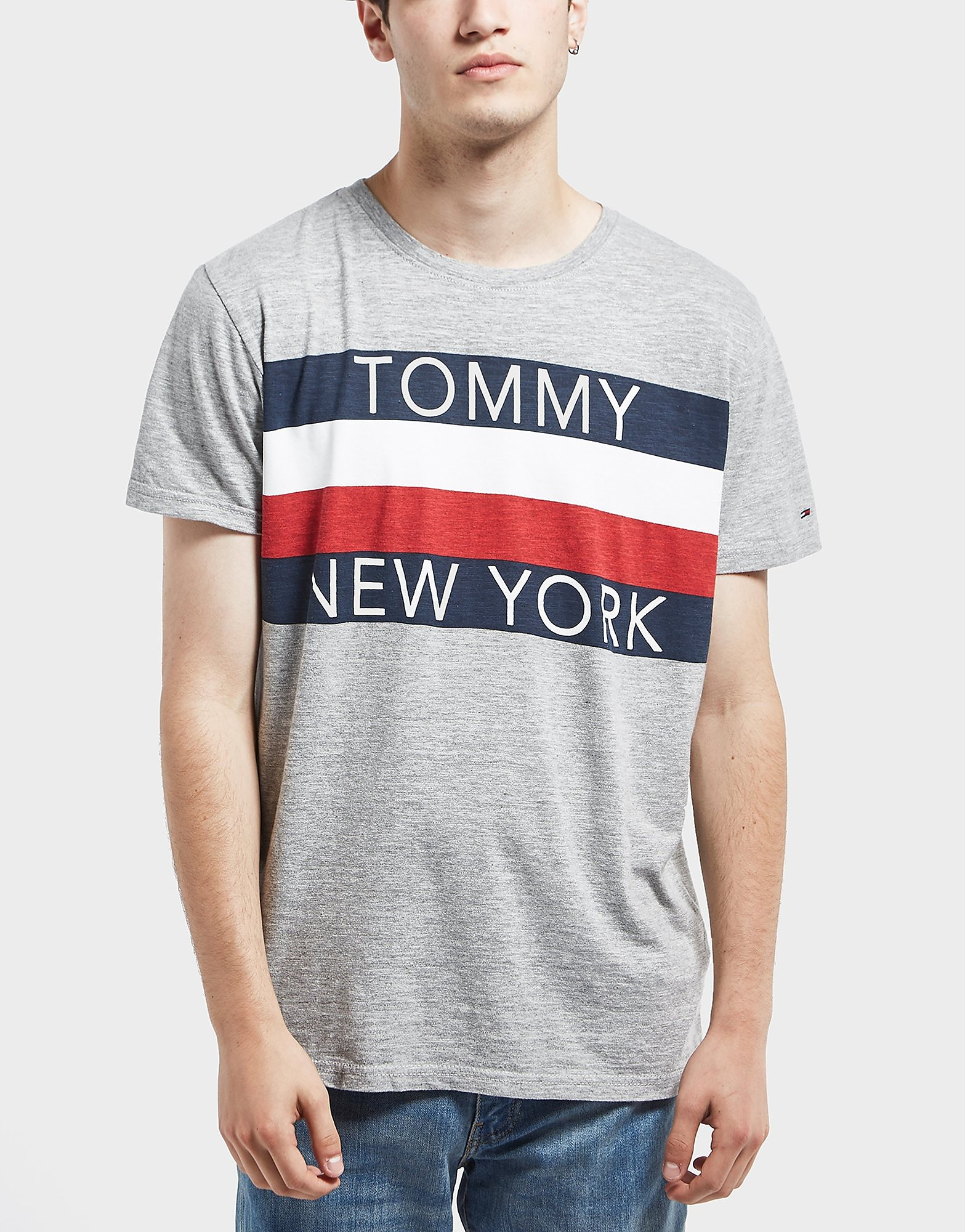 Tommy Hilfiger Panel Short Sleeve T-Shirt