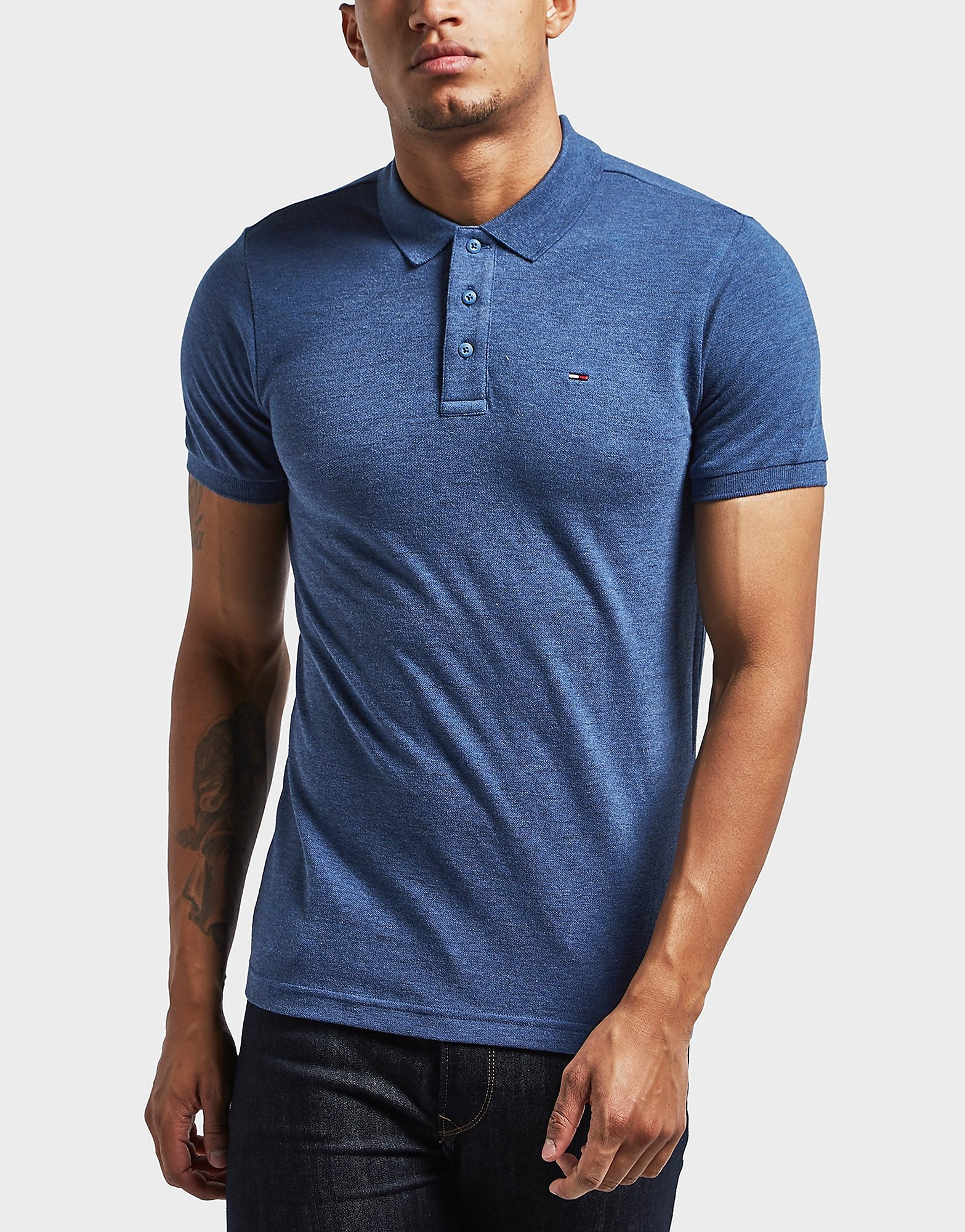 Tommy Hilfiger Logo Short Sleeve Polo Shirt