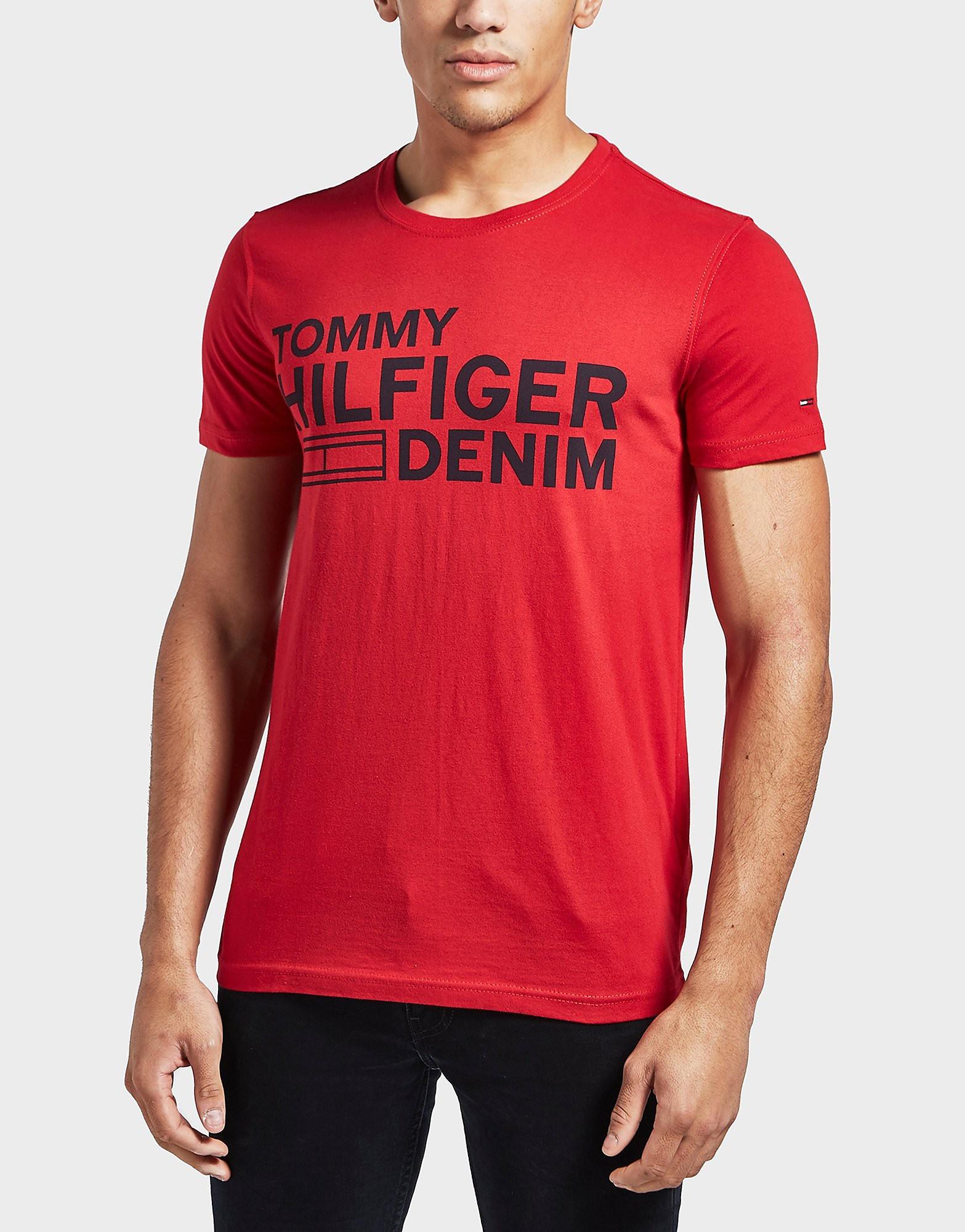Tommy Hilfiger Branded Short Sleeve T-Shirt