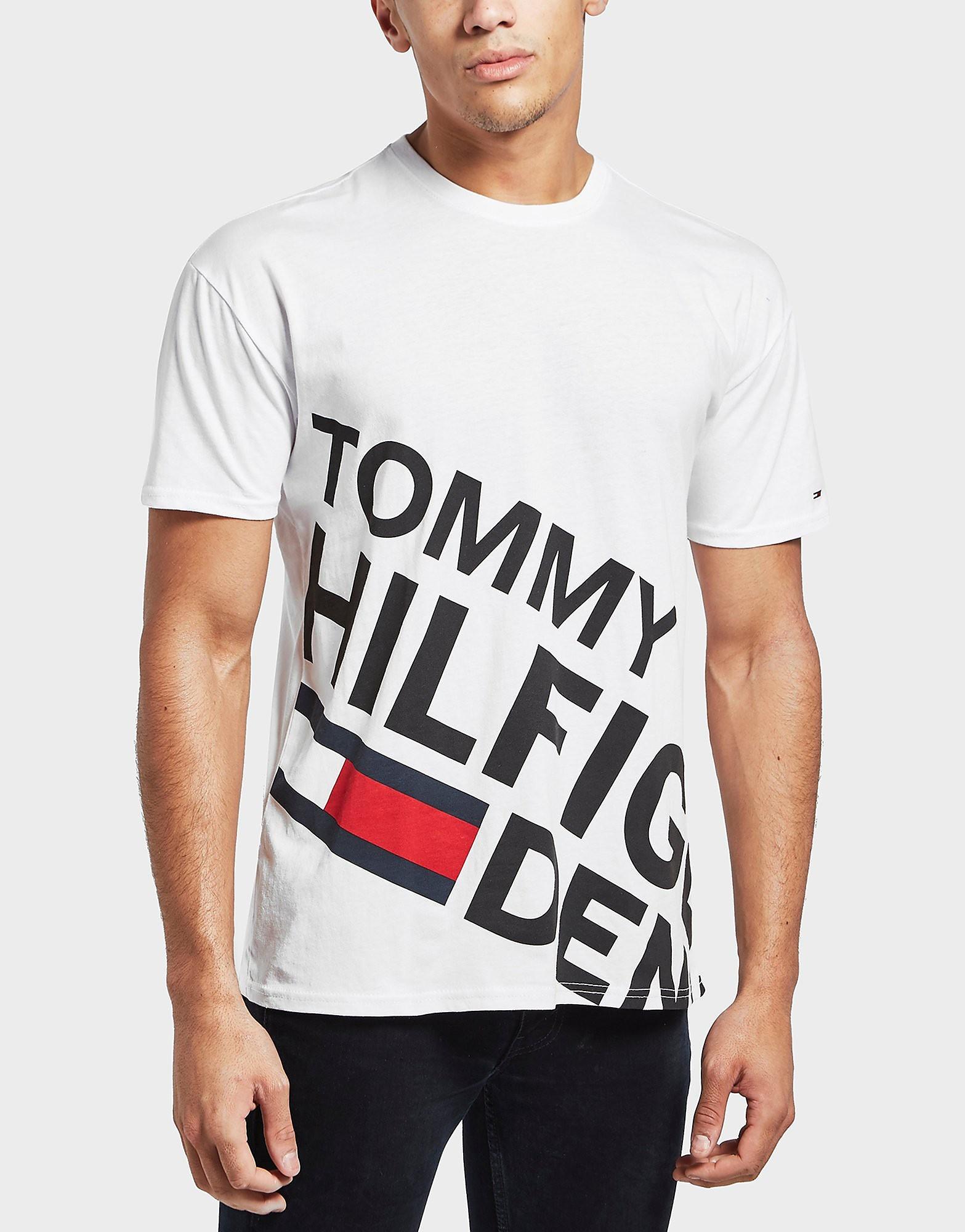 Tommy Hilfiger Slant Logo Short Sleeve T-Shirt