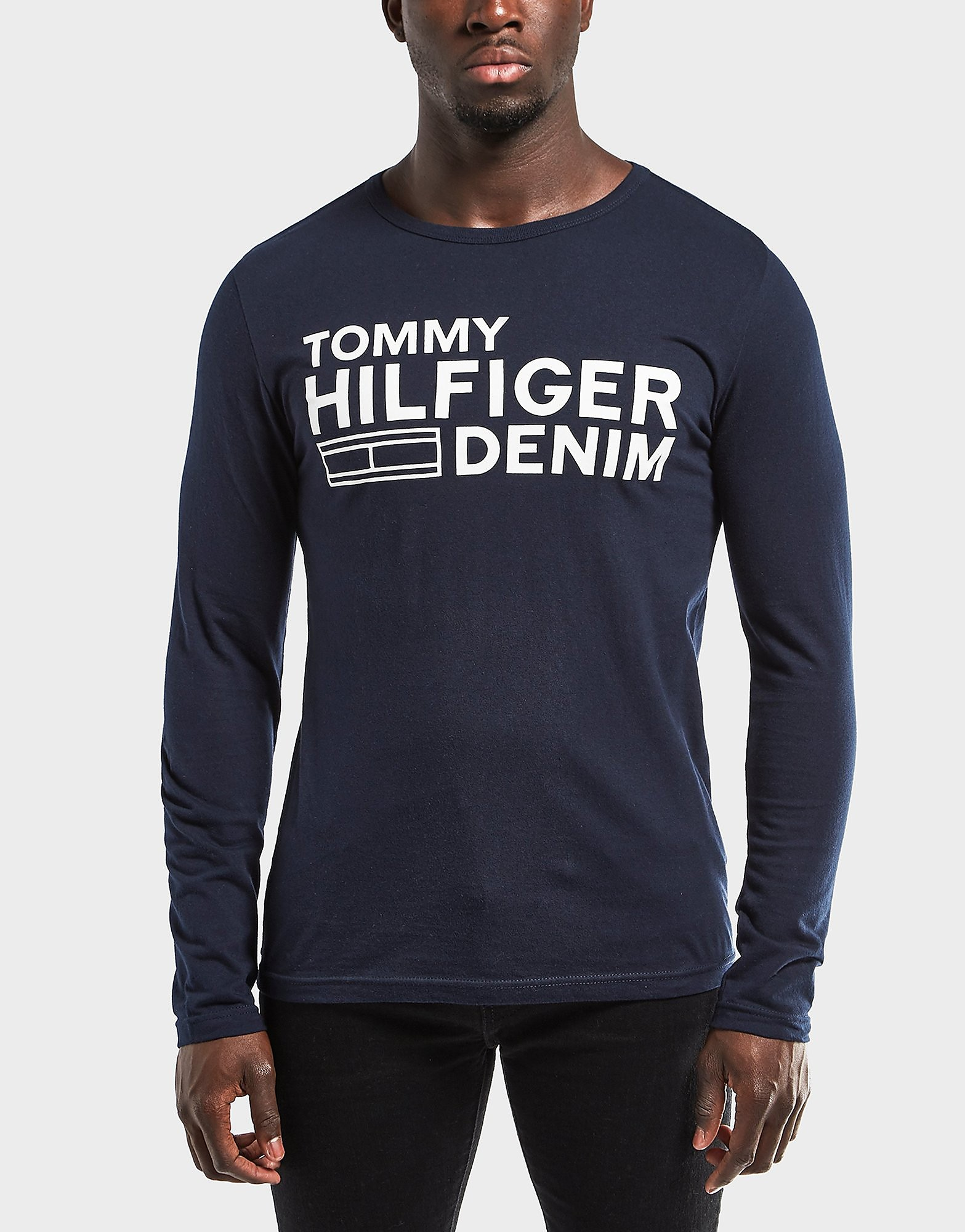 Tommy Hilfiger Logo Long Sleeve T-Shirt