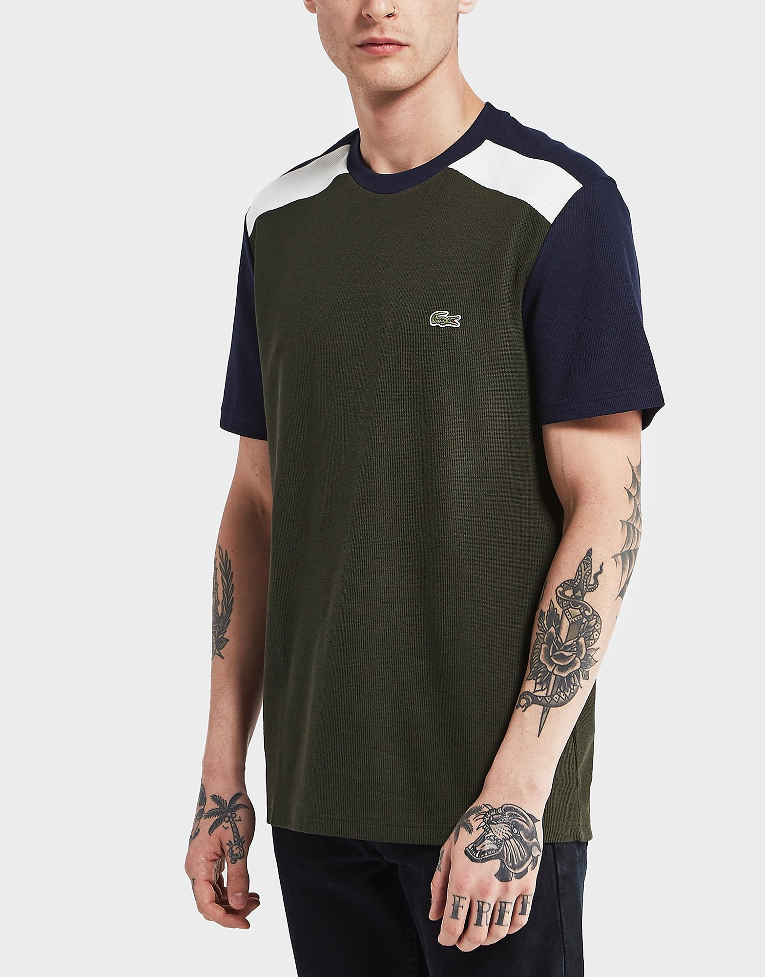 Lacoste Block Contrast Short Sleeve T-Shirt